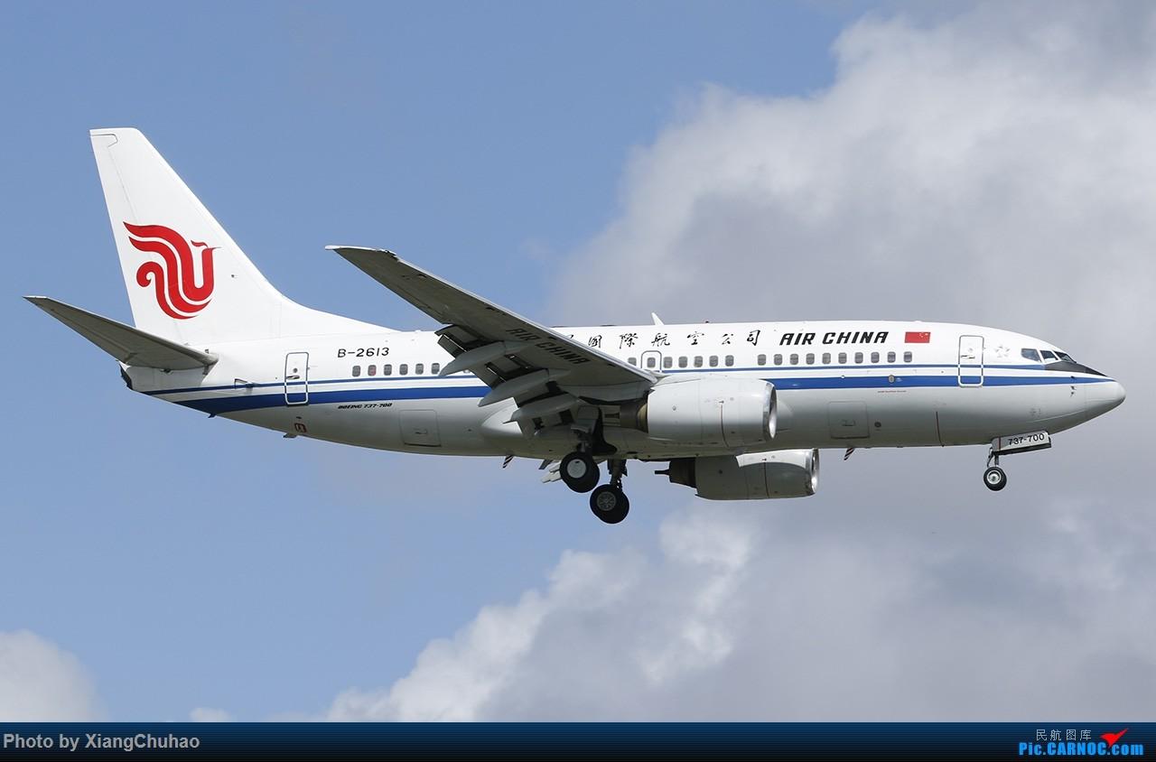 Re:[原创]国航 BOEING 737-700 B-2613 中国温州龙湾国际机场