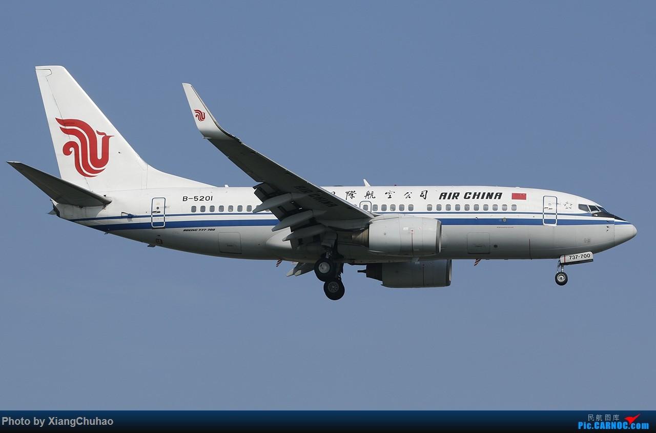 Re:[原创]国航 BOEING 737-700 B-5201 中国温州龙湾国际机场