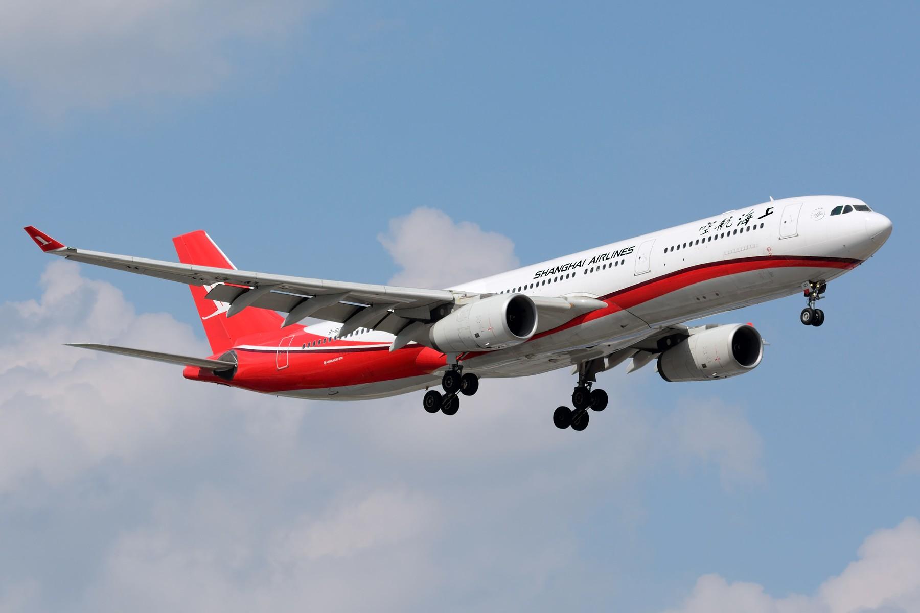 Re:[原创]【SHA】上海航空A330-300机队 B-6096 B-6097 B-6127 AIRBUS A330-300 B-6127 中国上海虹桥国际机场