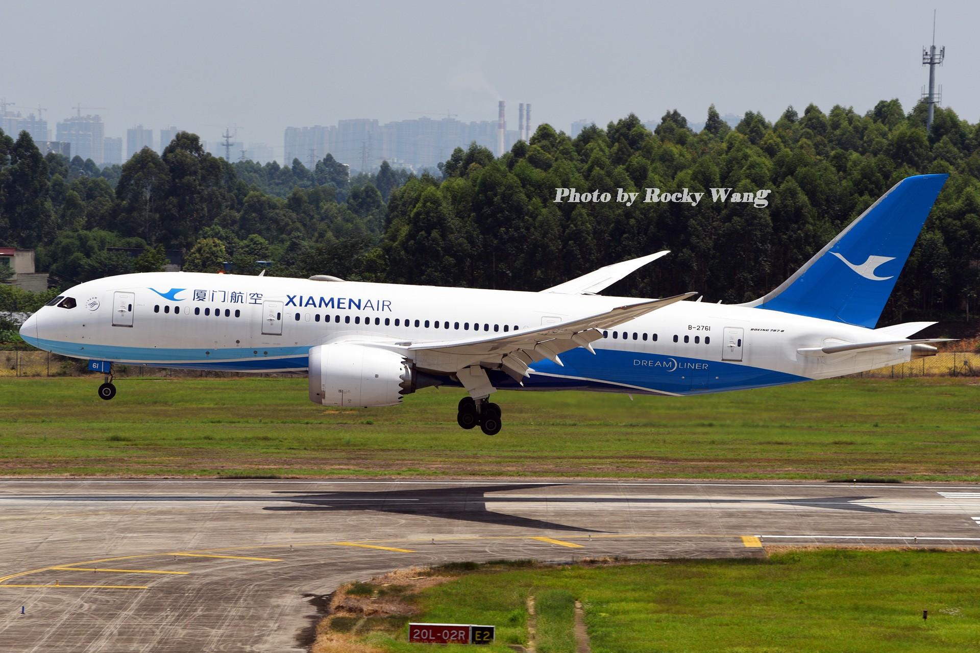 Re:[原创]***闪*** BOEING 787-8 B-2761 中国成都双流国际机场