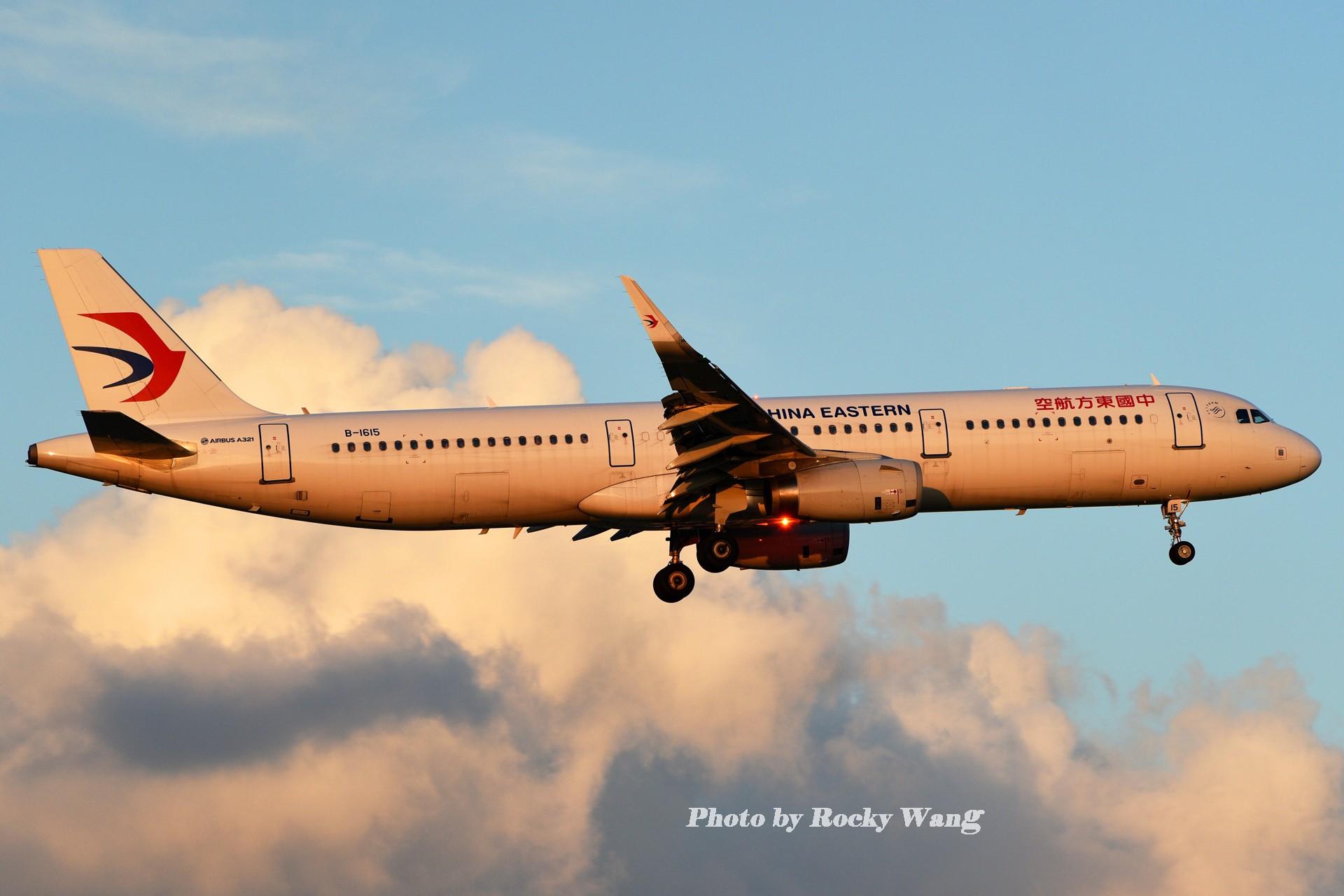 Re:[原创]***闪*** AIRBUS A321-200 B-1615 中国上海虹桥国际机场