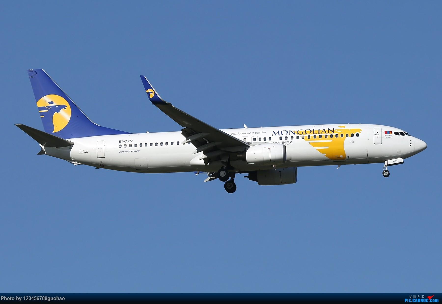 [原创]一图党-蒙古 BOEING 737-800 EI-CXV 北京首都机场