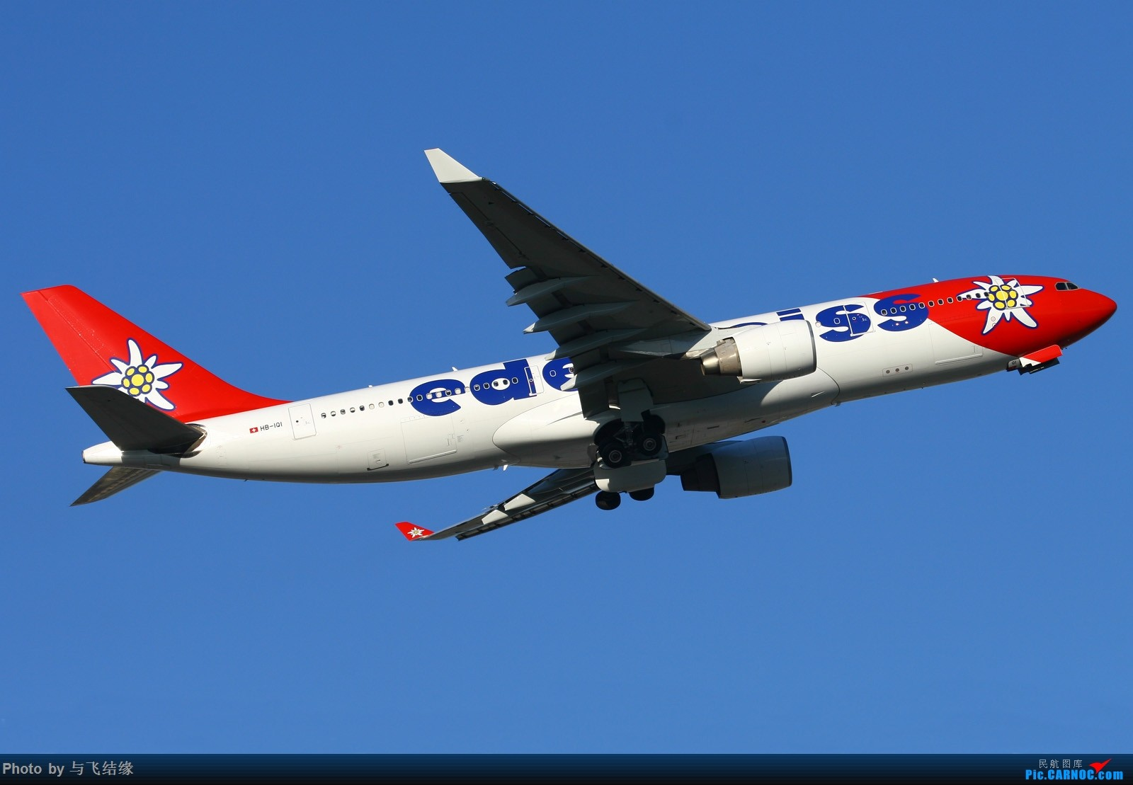 Re:[原创]瑞士航空Airbus A330-300腾空而起+雪绒花! AIRBUS A330-300  中国北京首都国际机场
