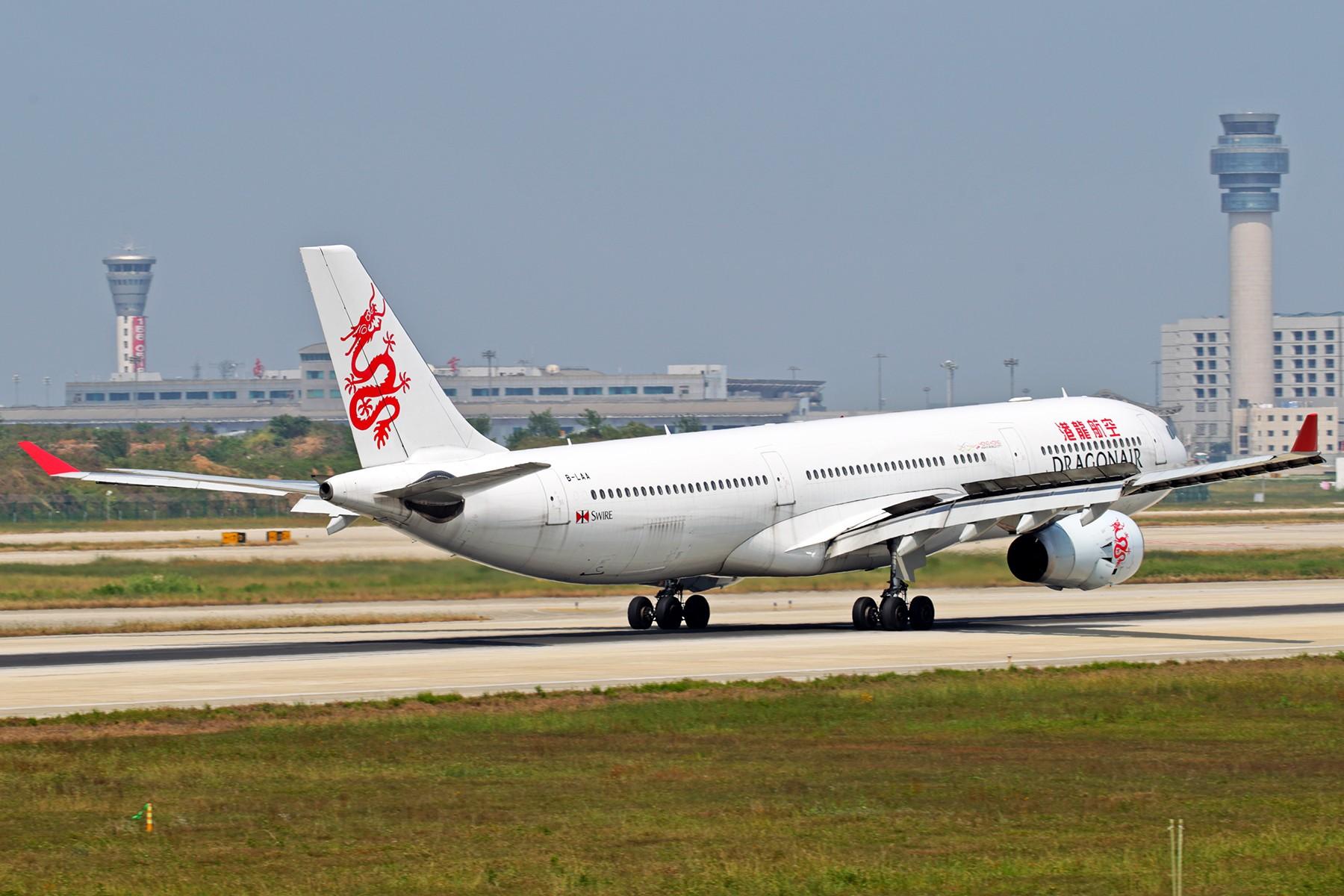 Re:[原创]【BLDDQ】******大嘴猴落地全套****** AIRBUS A330-300 B-LAA 中国南京禄口国际机场