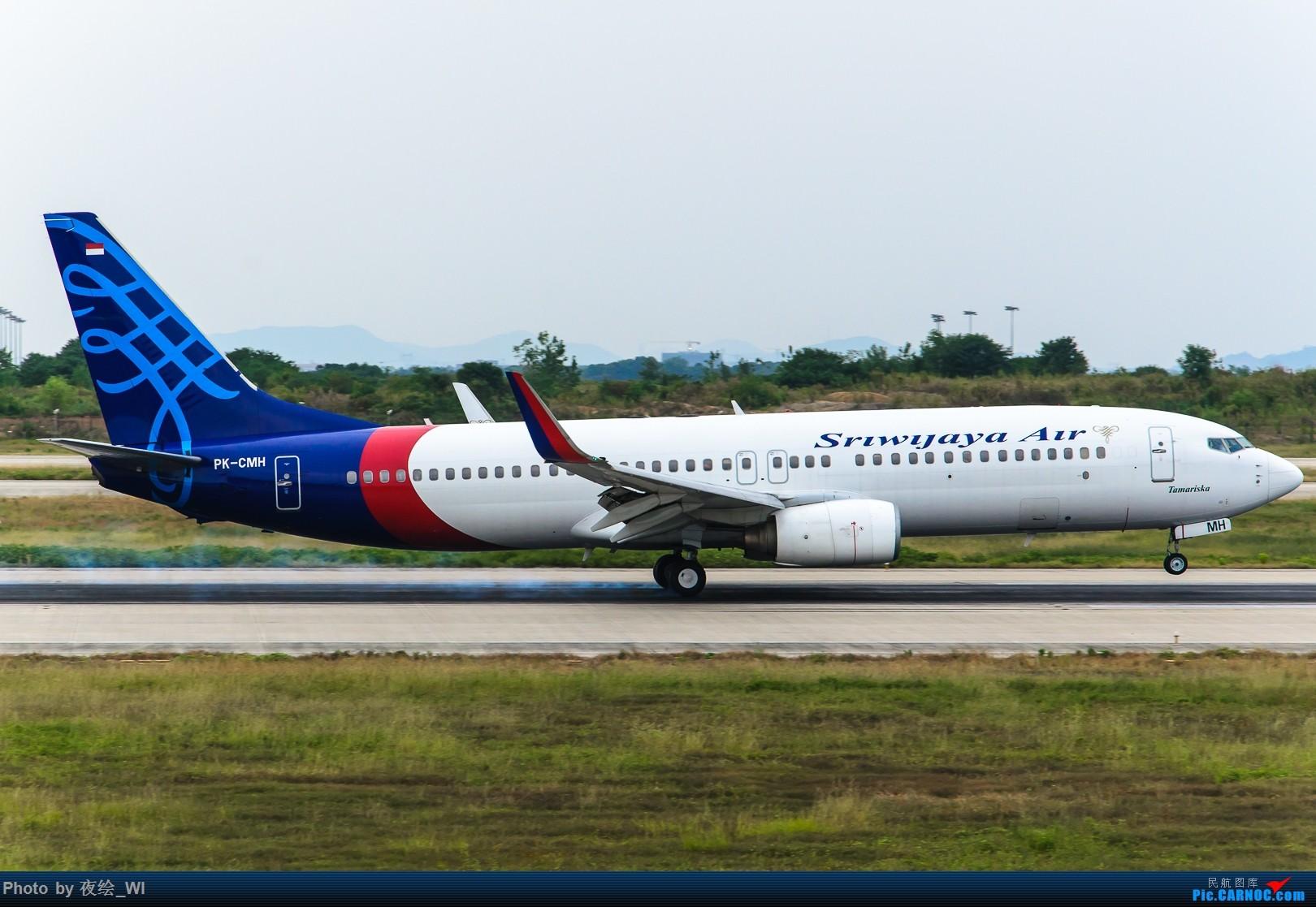 Re:[原创]【NKG】好久没发图了,趁着好天气发几架不一样的东南亚包机 BOEING 737-800 PK-CMH 中国南京禄口国际机场