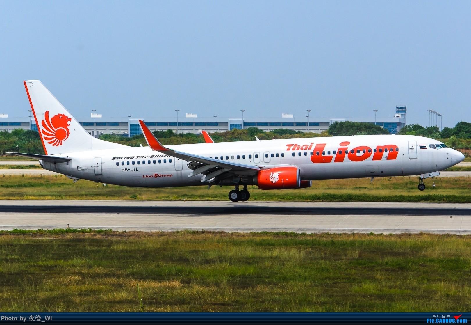 Re:[原创]【NKG】好久没发图了,趁着好天气发几架不一样的东南亚包机 BOEING 737-900ER HS-LTL 中国南京禄口国际机场