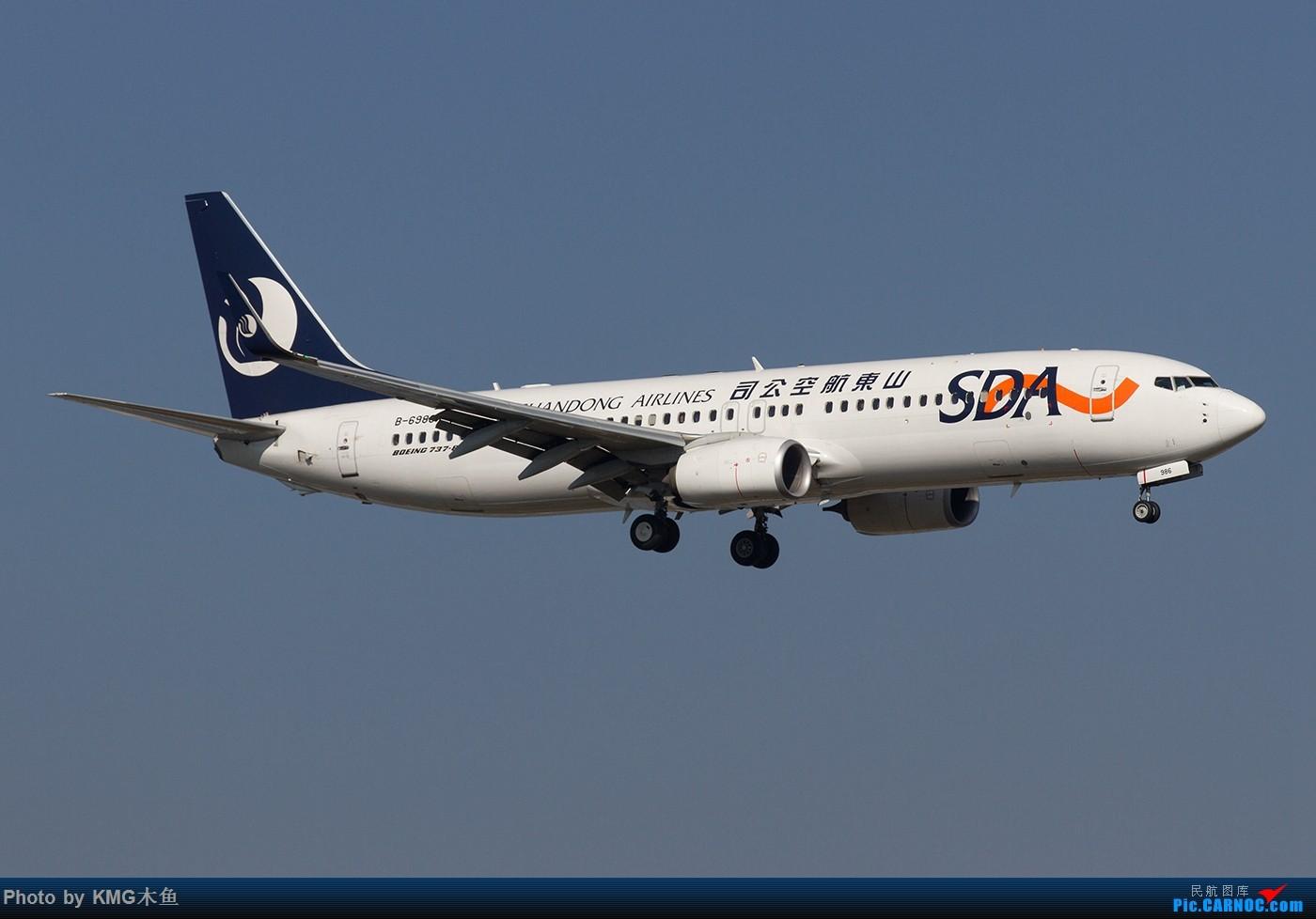 Re:[原创]【昆明飞友会-KMG木鱼】9月的周末可不可以来次大晴天,我想去拍飞机 BOEING 737-800 B-6986 中国昆明长水国际机场