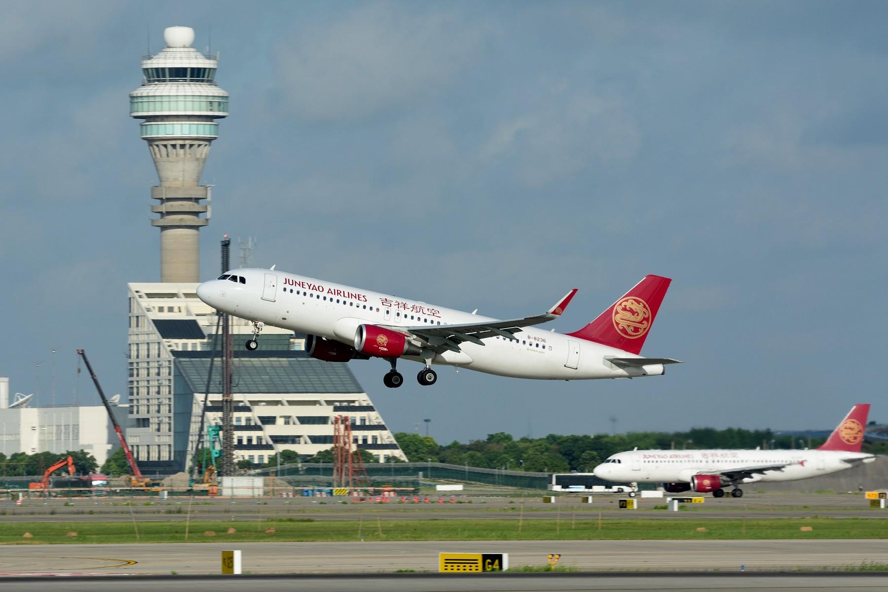 [原创]【PVG】一图党之奶航320起飞穿塔 AIRBUS A320-200 B-8236 中国上海浦东国际机场 中国上海浦东国际机场