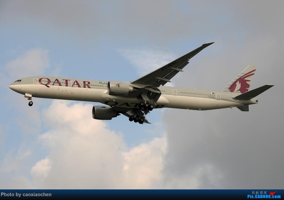 Re:【五图】傍晚几个欧洲来的77W BOEING 777-300ER A7-BAL 中国上海浦东国际机场