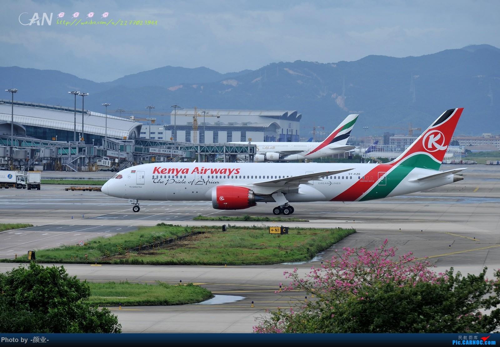 Re:[原创]记录曾经拍过的787 BOEING 787-8 5Y-KZB 中国广州白云国际机场