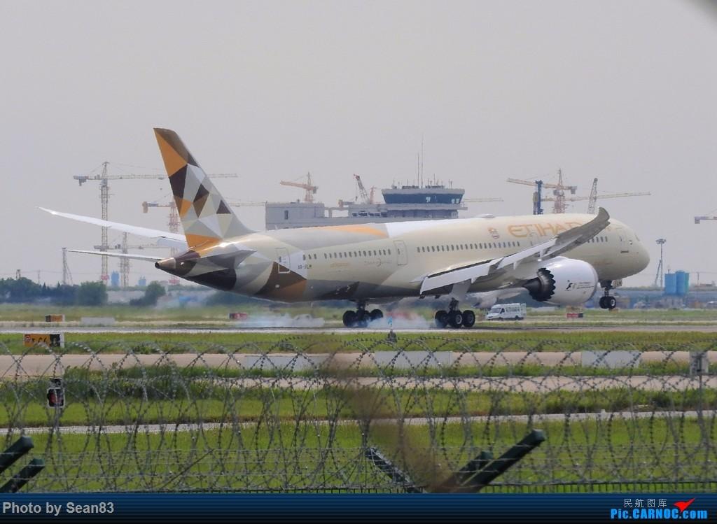 Re:[原创](PVG) 新来的787们 BOEING 787-9 A6-BLH 上海浦东国际机场