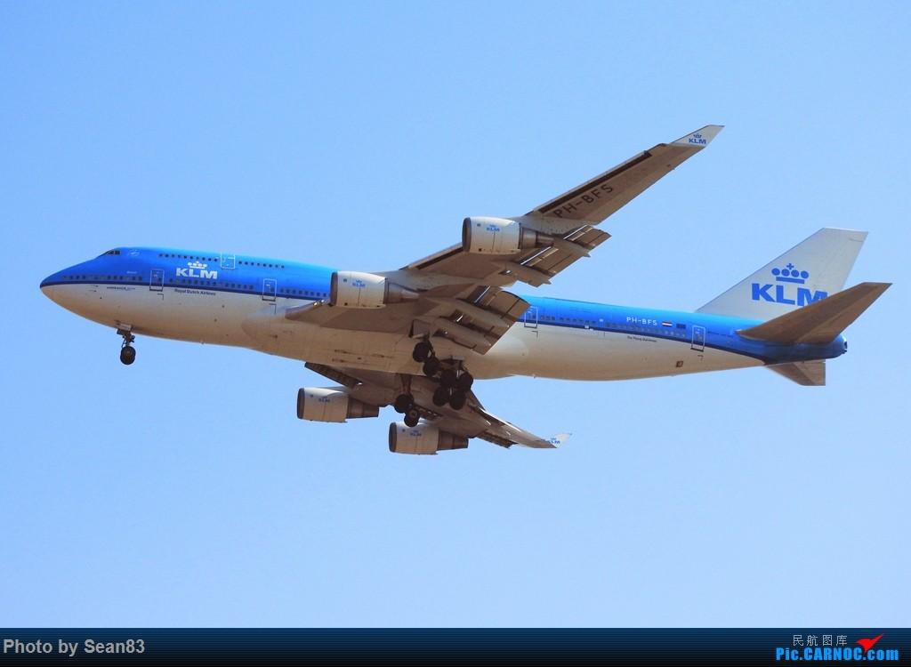 Re:[原创](PVG) 新来的787们 BOEING 747-400 PH-BFS