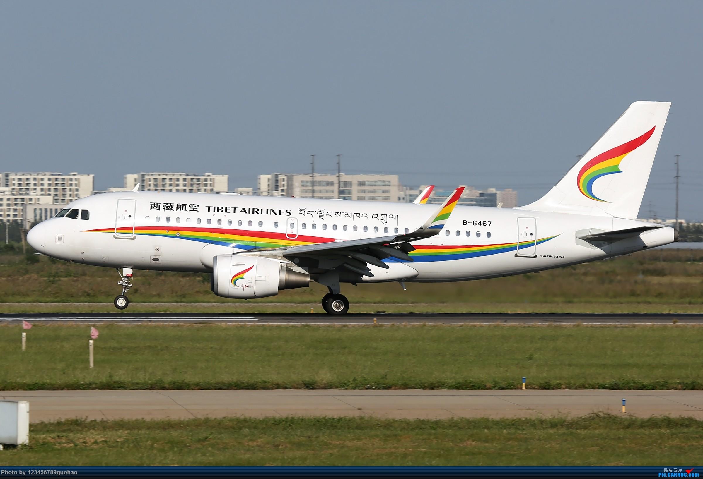 Re:[原创]TSN多图-后脚着地 AIRBUS A319-100 B-6467 天津滨海国际机场