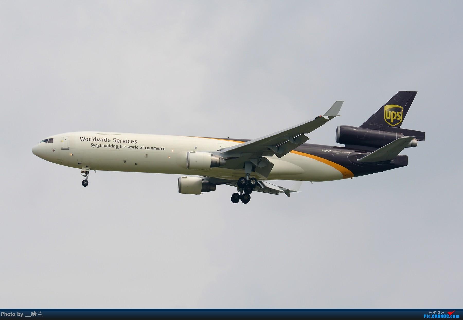 [原创][PVG]拖延症患者迟交的作业,妖天下的35L向北进近 MD MD-11F N279UP 中国上海浦东国际机场