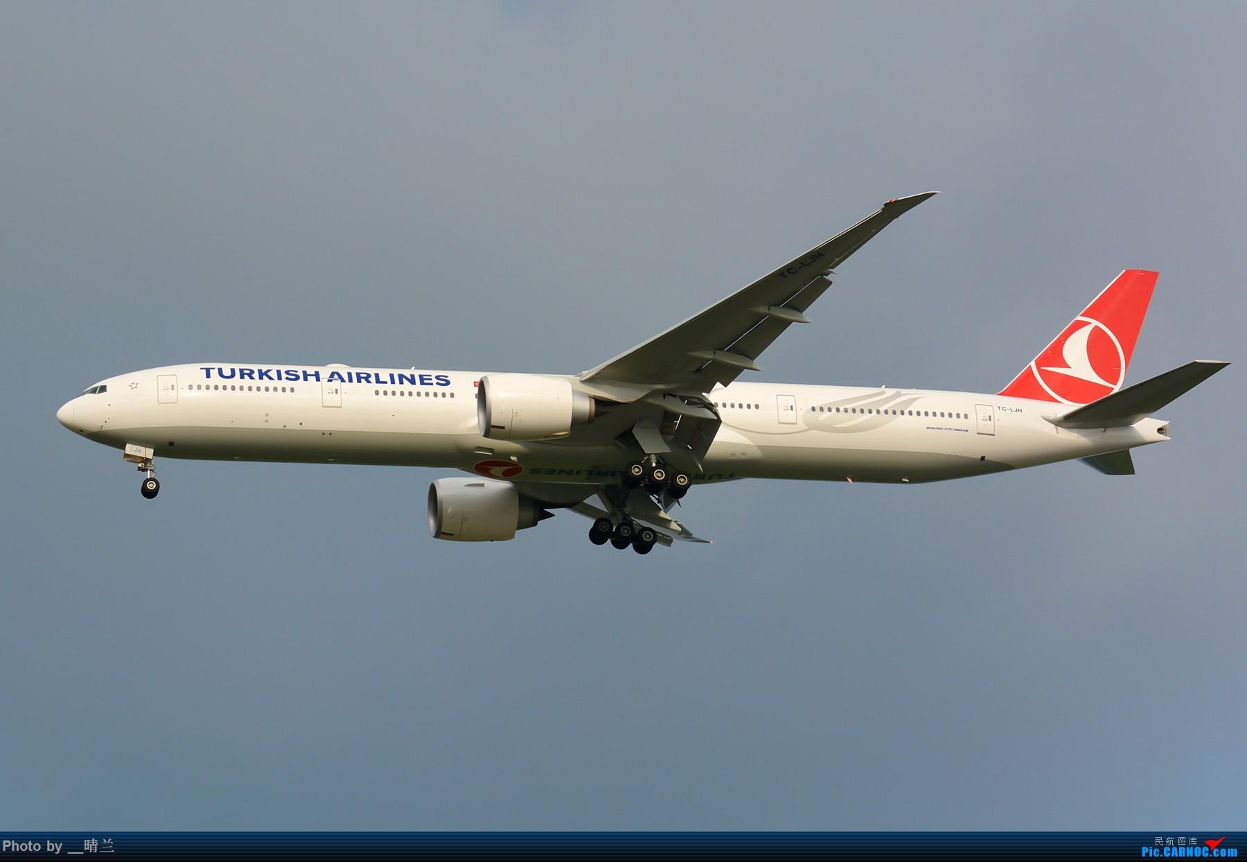 Re:[原创][PVG]拖延症患者迟交的作业,妖天下的35L向北进近 BOEING 777-300ER TC-LJH 中国上海浦东国际机场