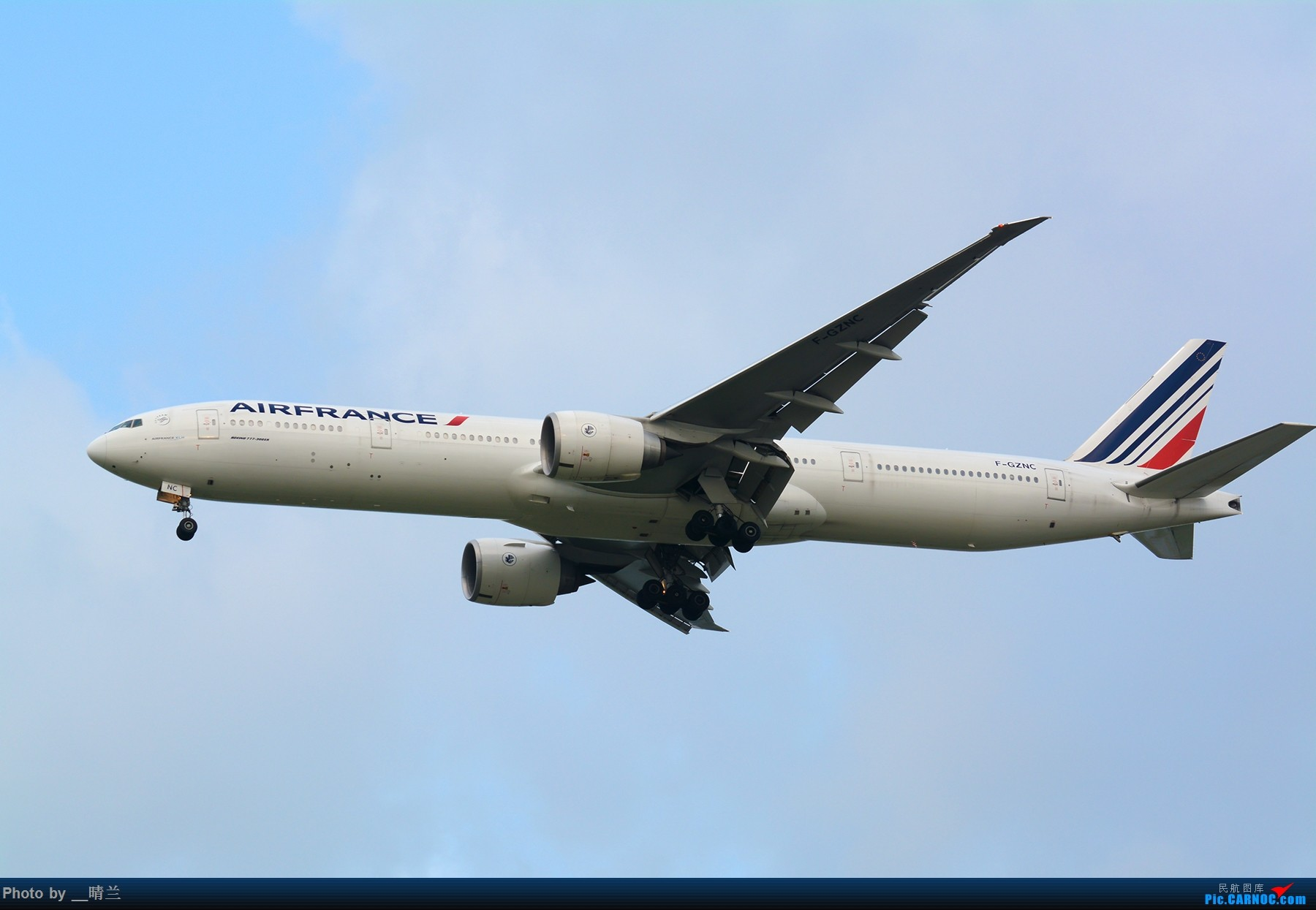 Re:[原创][PVG]拖延症患者迟交的作业,妖天下的35L向北进近 BOEING 777-300ER F-GZNC 中国上海浦东国际机场