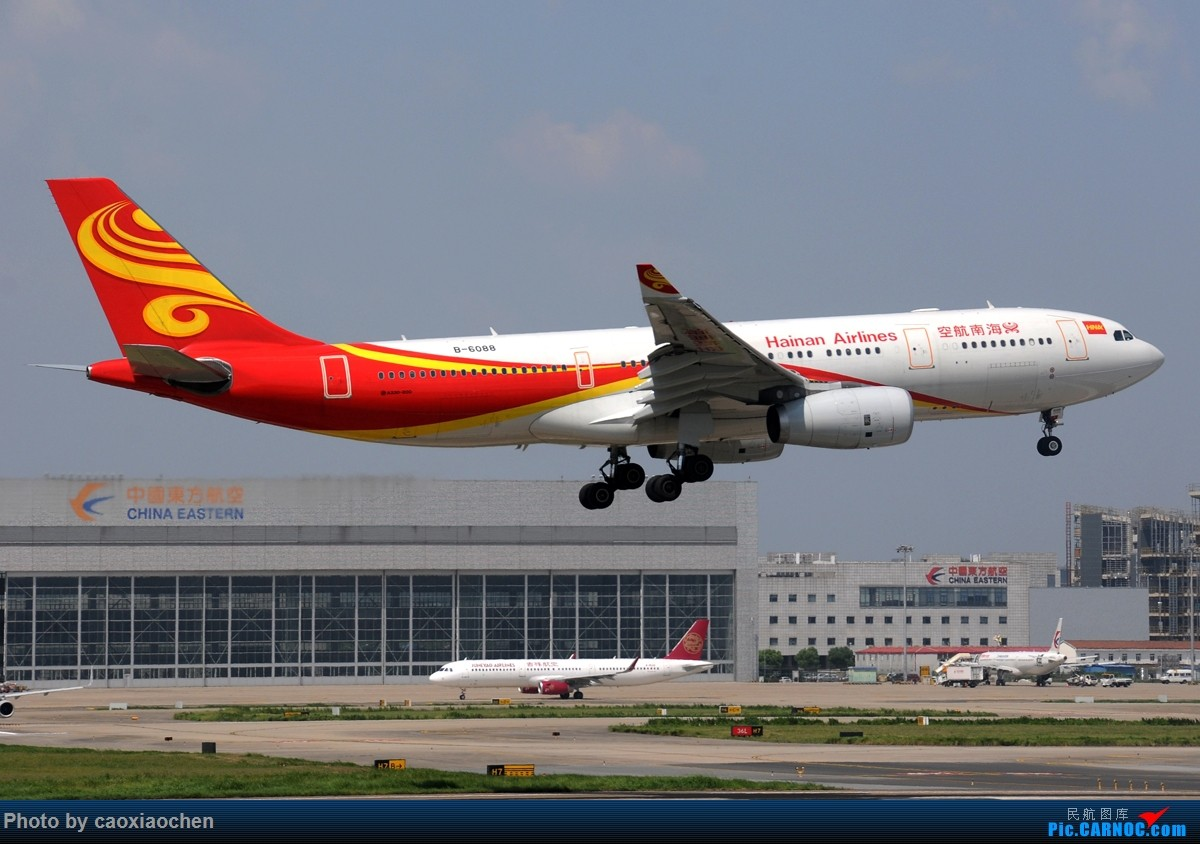 Re:[原创]飞-机-降-落-上-海-虹-桥-站 AIRBUS A330-200 B-6088 中国上海虹桥国际机场