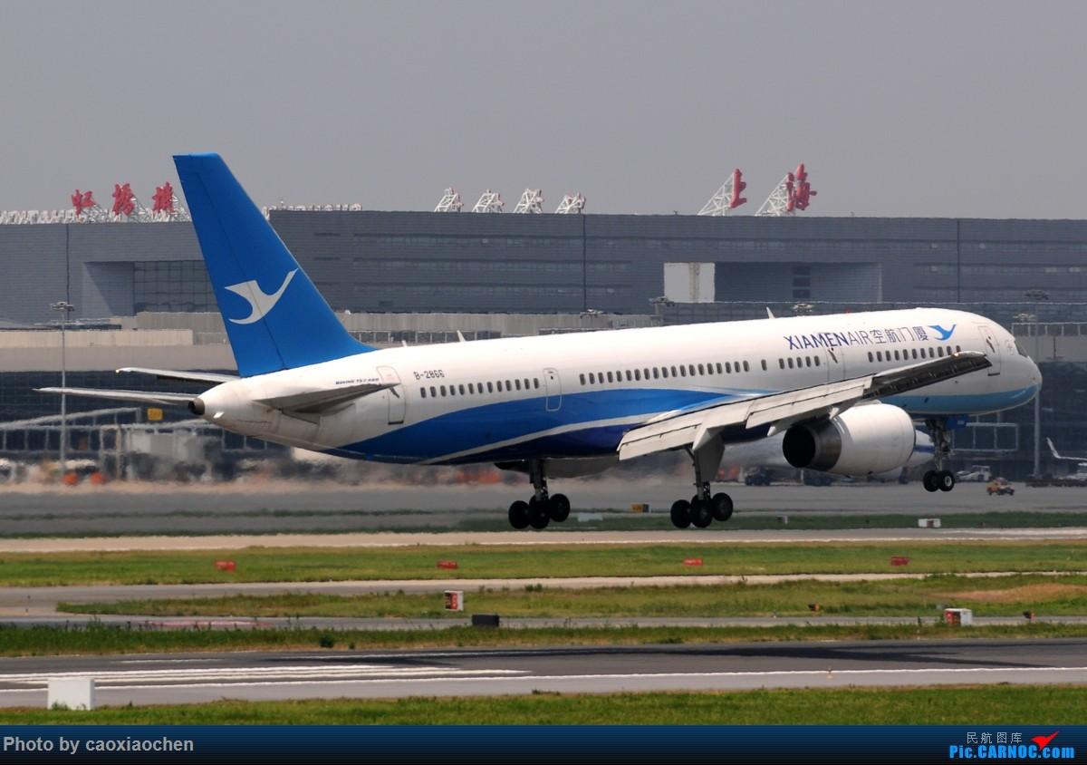 Re:[原创]飞-机-降-落-上-海-虹-桥-站 BOEING 757-200 B-2866 中国上海虹桥国际机场