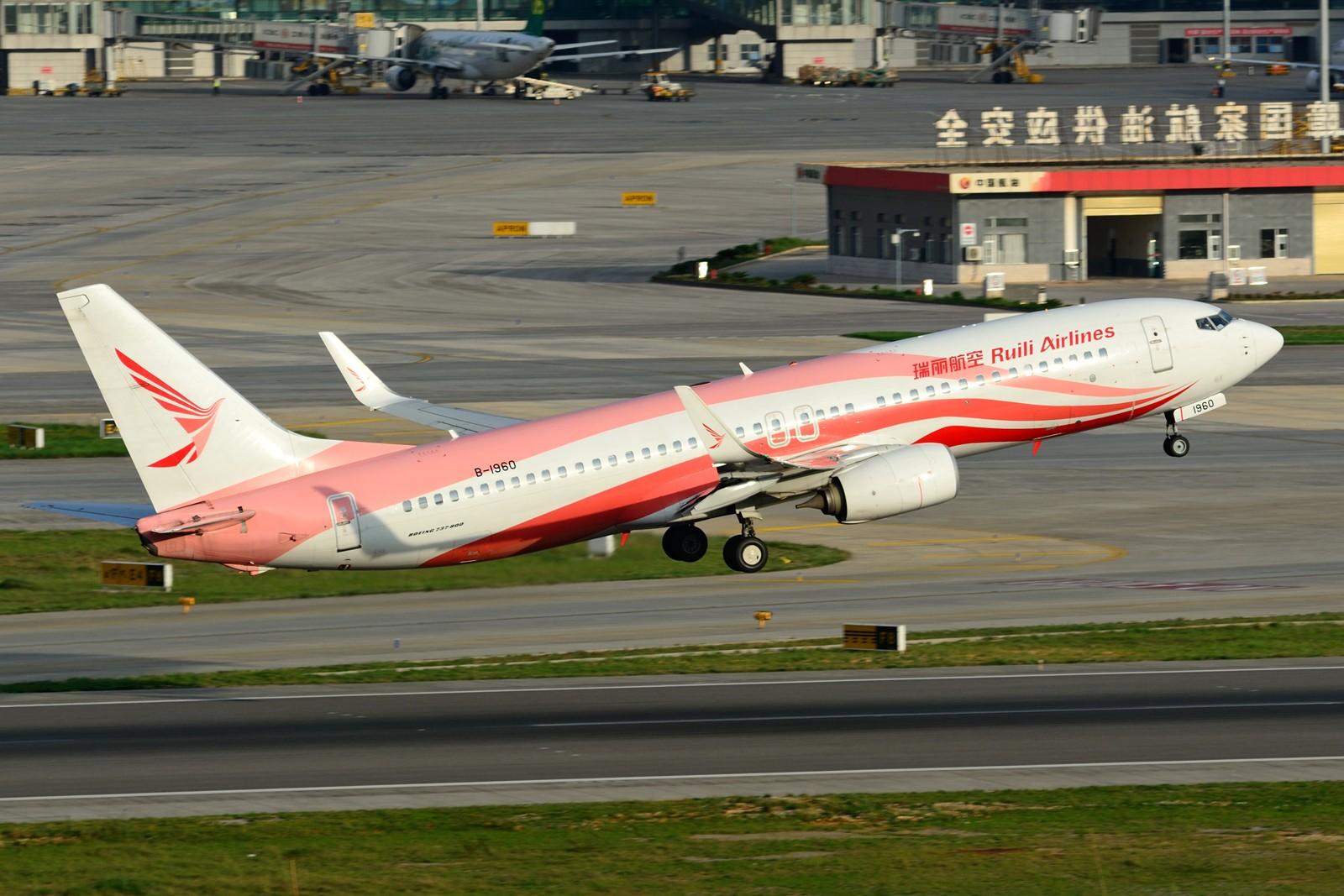 Re:[原创]【KMG】发几张长水的存货,提前祝大家国庆快乐~~~ BOEING 737-800 B-1960 中国昆明长水国际机场