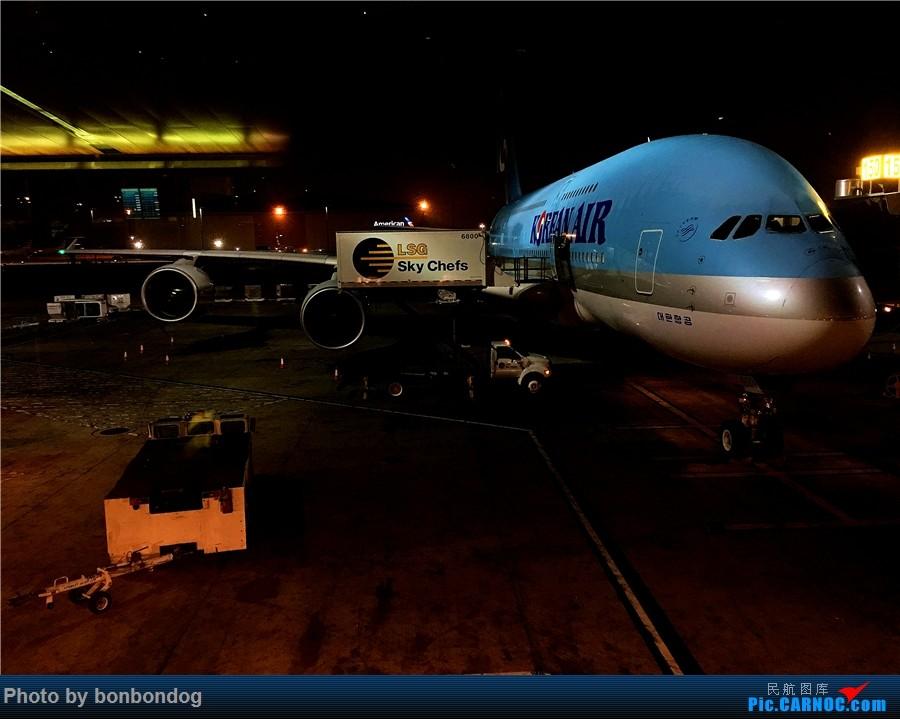 Re:[原创]LAX-CAN-CTU AIRBUS A380-800 HL7621 美国洛杉矶机场