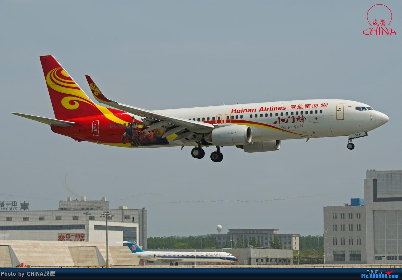 Re:[原创]【SHE】拍飞机的乐趣2 BOEING 737-800 B-5467 中国沈阳桃仙国际机场