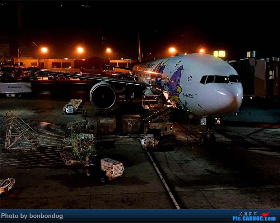 Re:[原创]LAX-CAN-CTU BOEING 777-300ER B-16722 美国洛杉矶机场
