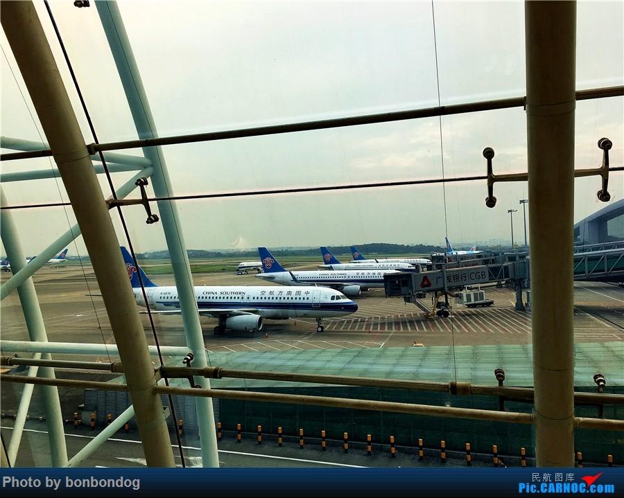 Re:[原创]LAX-CAN-CTU    中国广州白云国际机场
