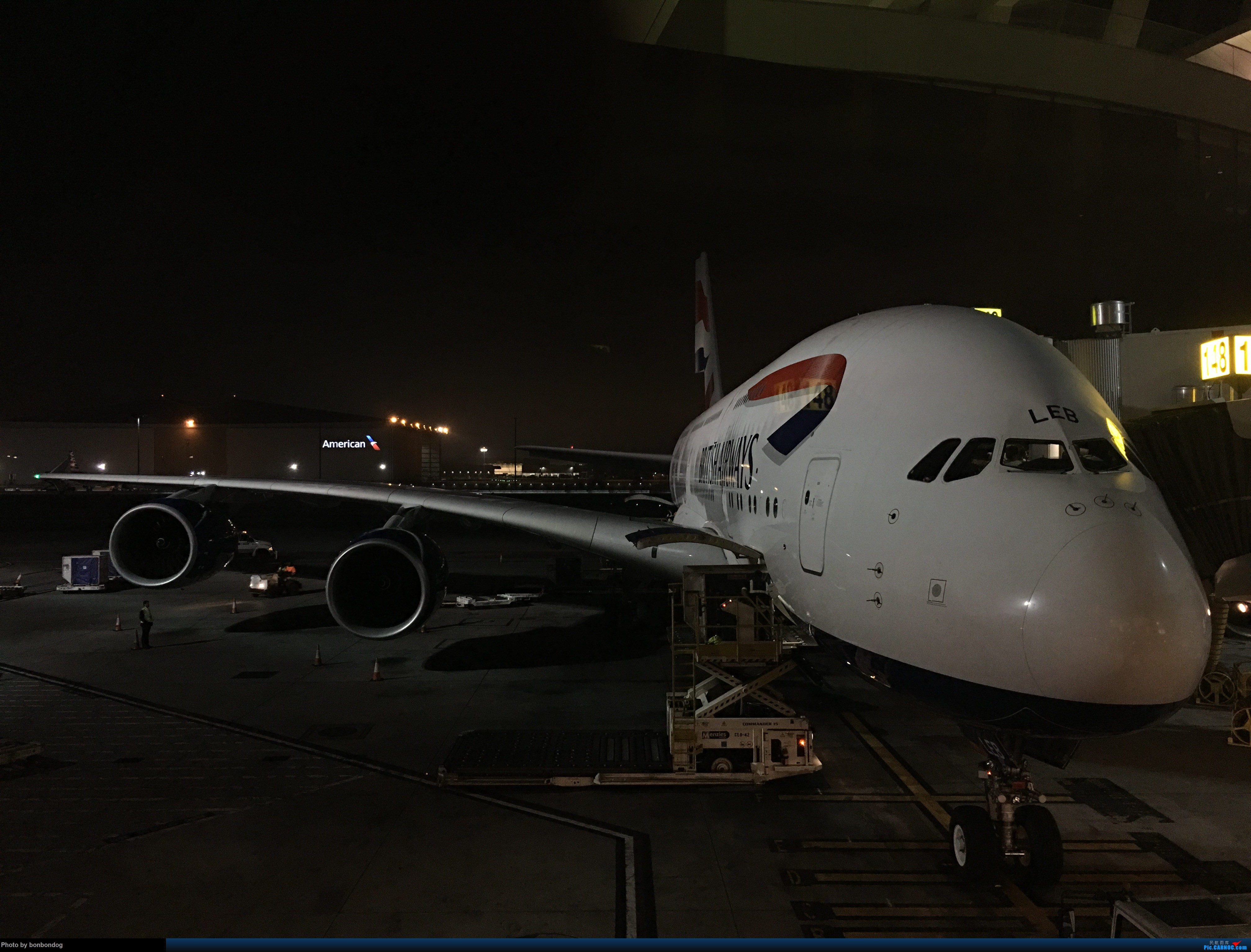 Re:[原创]LAX-CAN-CTU A380-841 G-XLEB 美国洛杉矶机场 美国洛杉矶机场