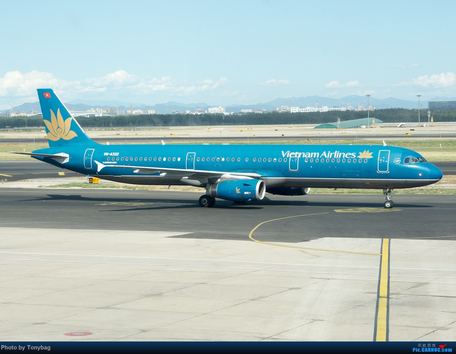 Re:[原创]【PEK】Vietnam Airlines A321-200 VN-A332 AIRBUS A321-200 VN-A332 中国北京首都国际机场