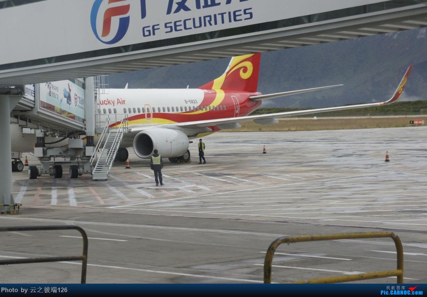 Re:[原创]KHN-CTU-JZH-CTU-NKG造访蜀地,体验世界里程最贵机票,多图 BOEING 737-700 B-5823 中国九寨黄龙机场