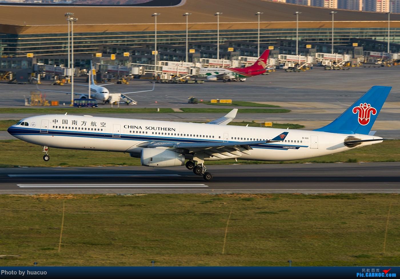 [原创]【KMG】国庆节快乐! AIRBUS A330-300 B-6111 中国昆明长水国际机场