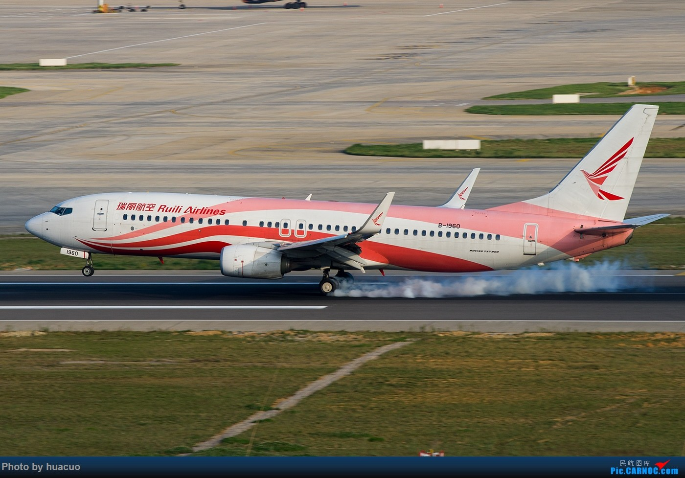Re:【KMG】国庆节快乐! BOEING 737-800 B-1960 中国昆明长水国际机场