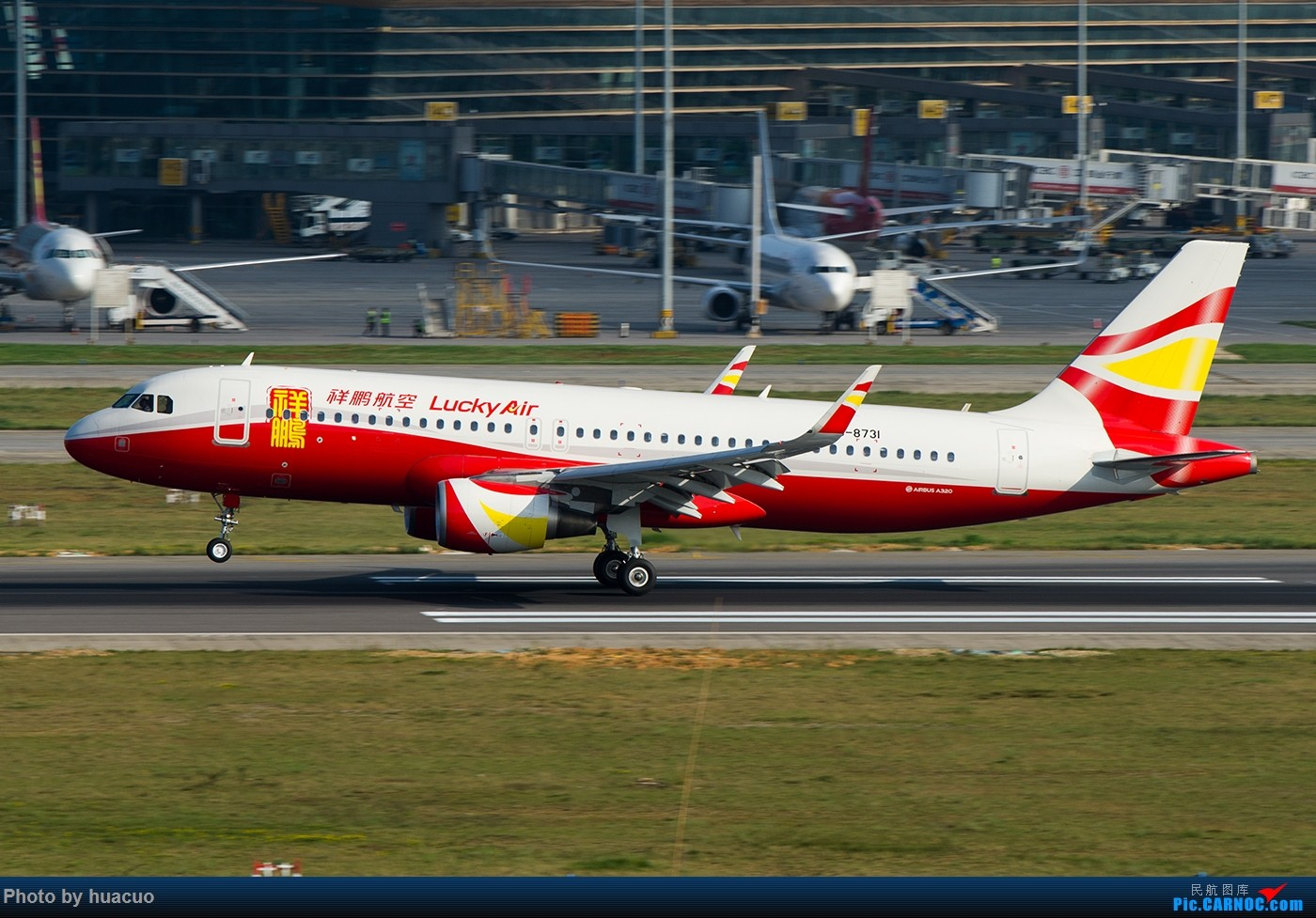 Re:[原创]【KMG】国庆节快乐! AIRBUS A320-200 B-8731 中国昆明长水国际机场