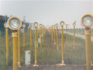南京禄口国际机场25号跑道引进灯