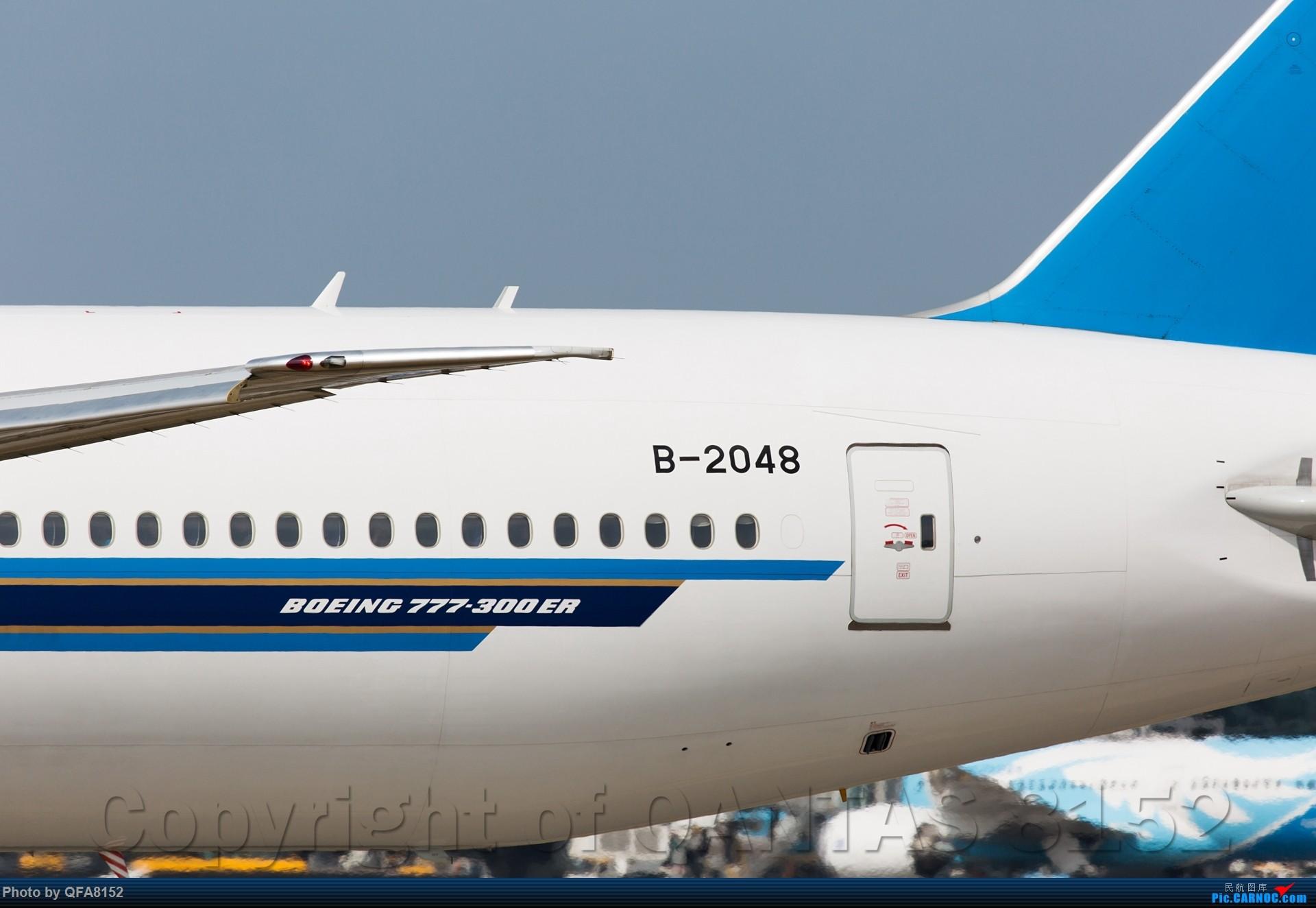 Re:[原创]冒泡 BOEING 777-300ER B-2048 中国广州白云国际机场