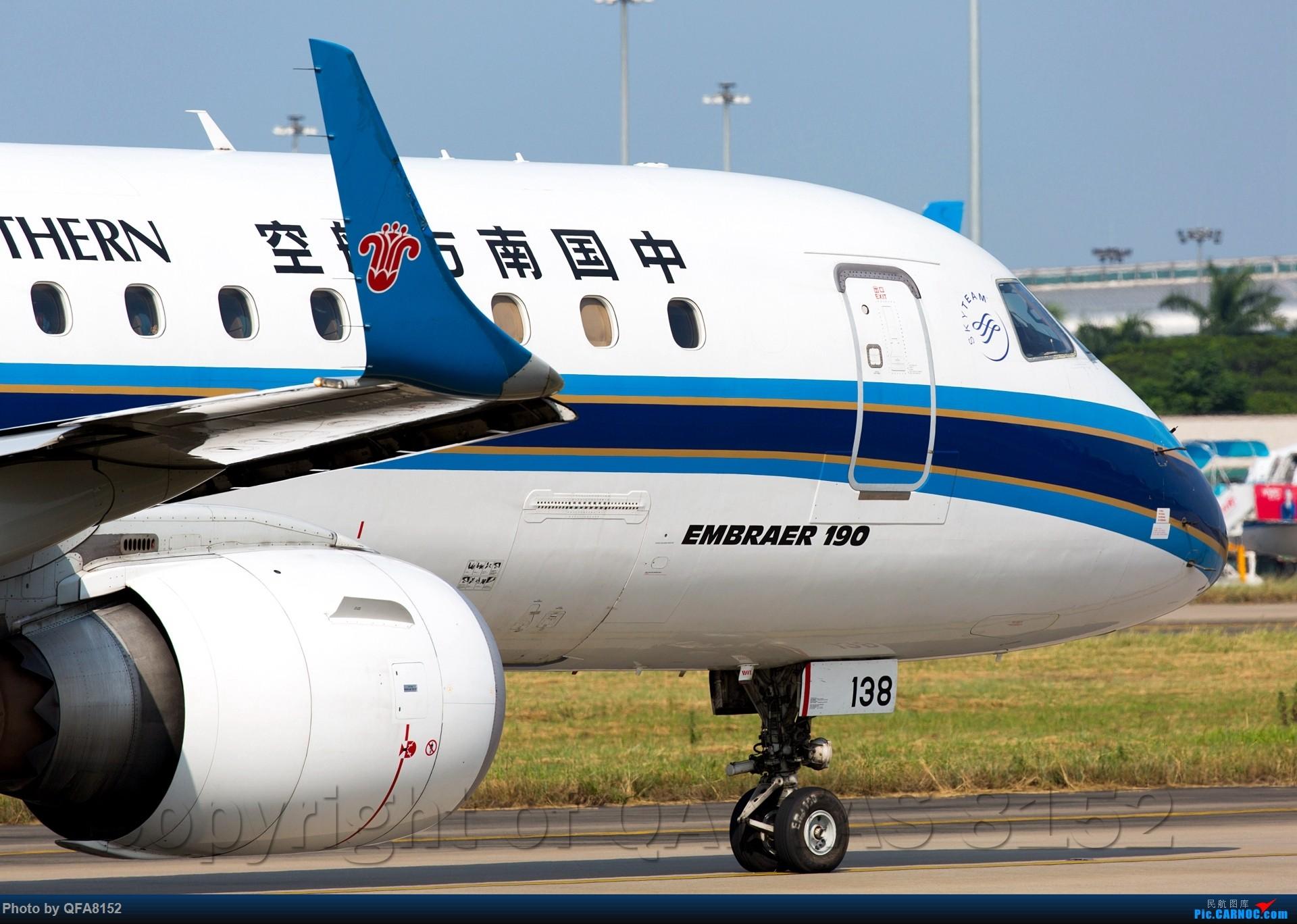 Re:[原创]冒泡 EMBRAER E-190 B-3138 中国广州白云国际机场