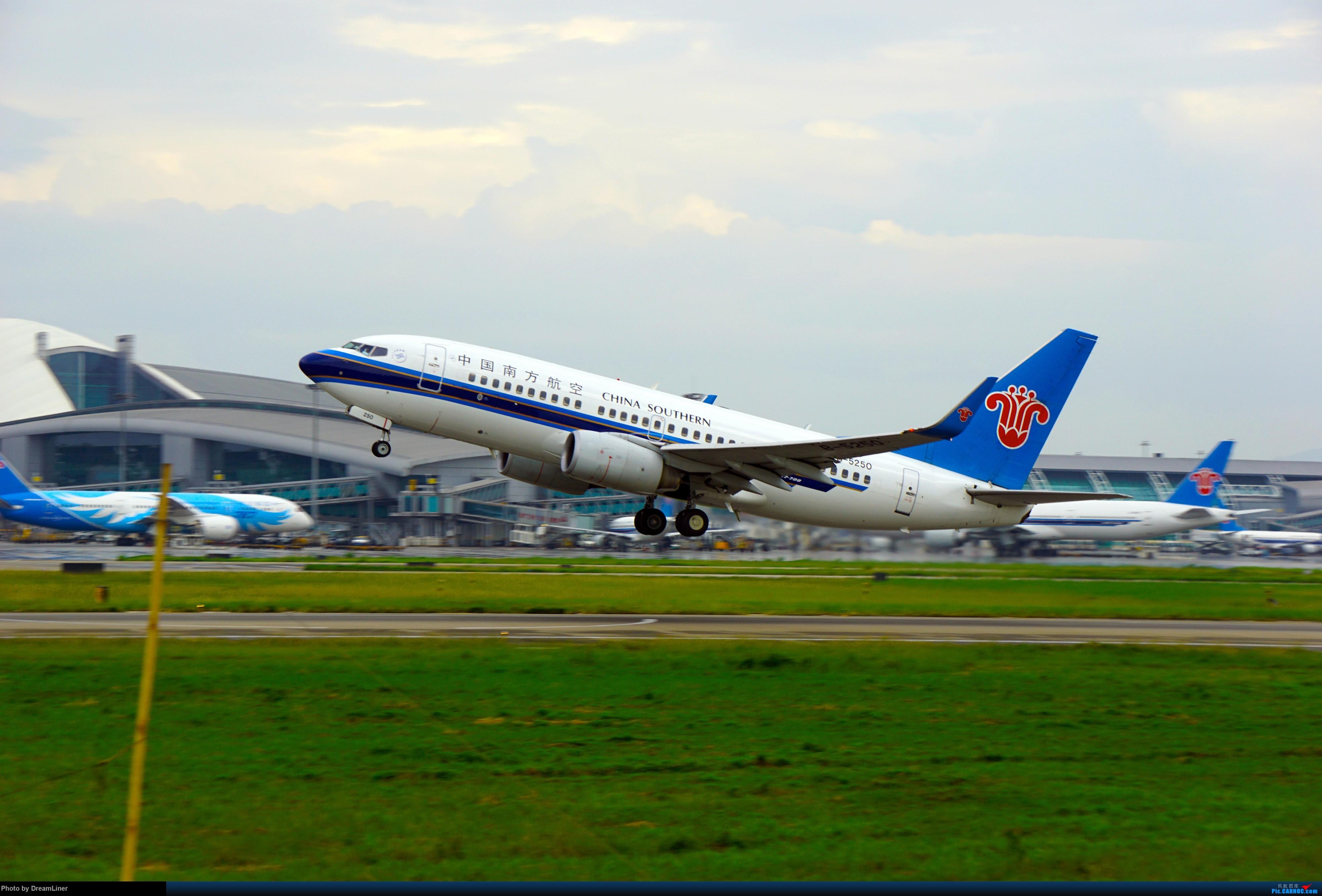 Re:[原创]2016.10.3 白云机场明星村、团结村拍机(部分修图) BOEING 737-700 B-5250 中国广州白云国际机场