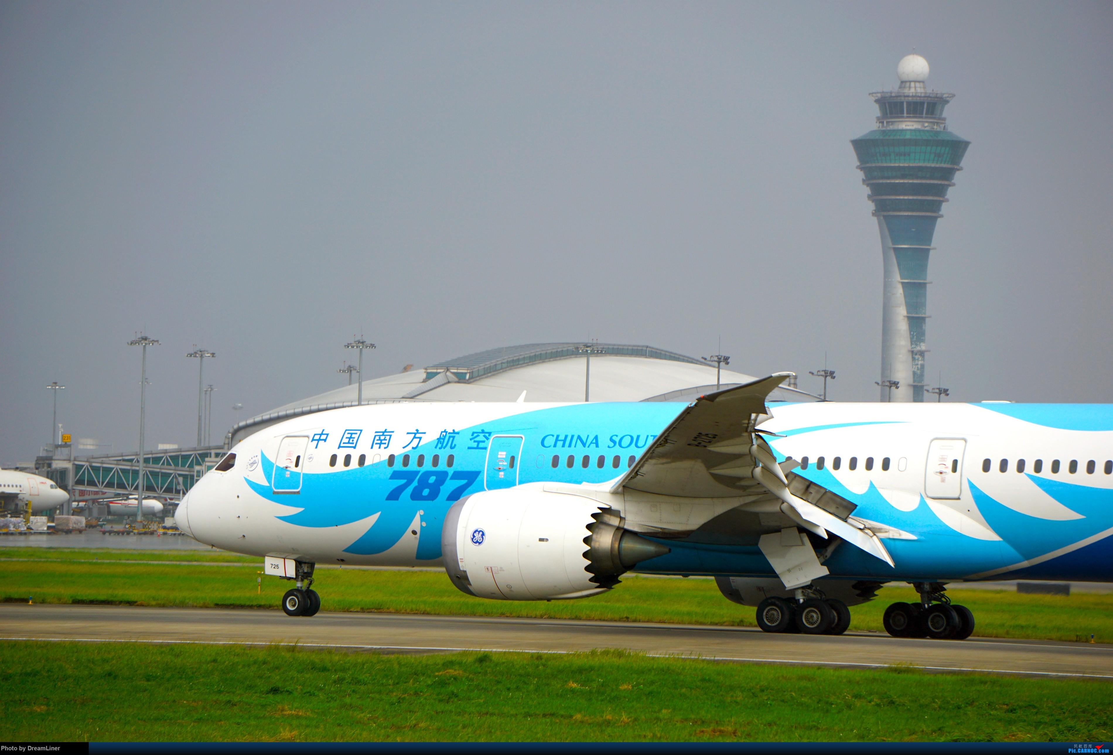 Re:2016.10.3 白云机场明星村、团结村拍机(部分修图) BOEING 787-8 B-2725 中国广州白云国际机场