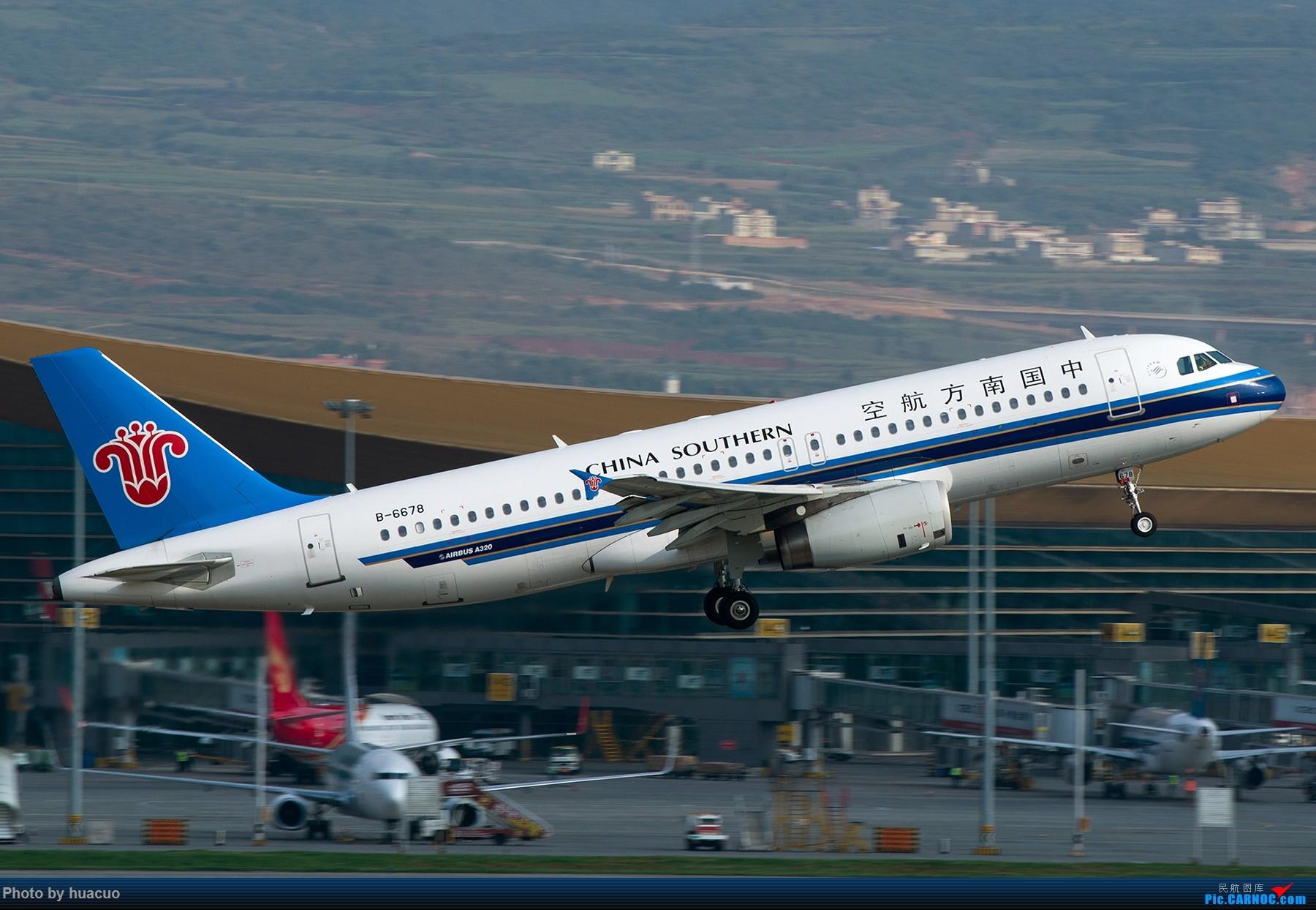 Re:[原创]【KMG】昆明机场日常 AIRBUS A320-200 B-6678 中国昆明长水国际机场