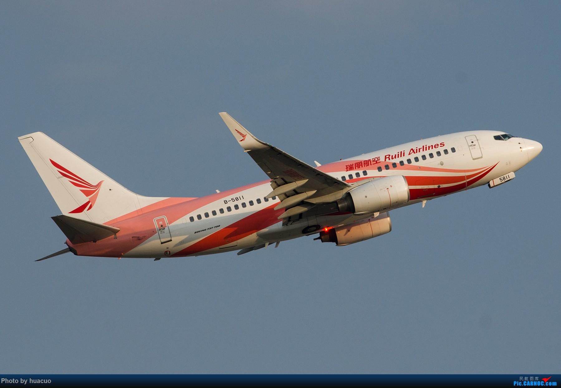 Re:【KMG】昆明机场日常 BOEING 737-700 B-5811 中国昆明长水国际机场