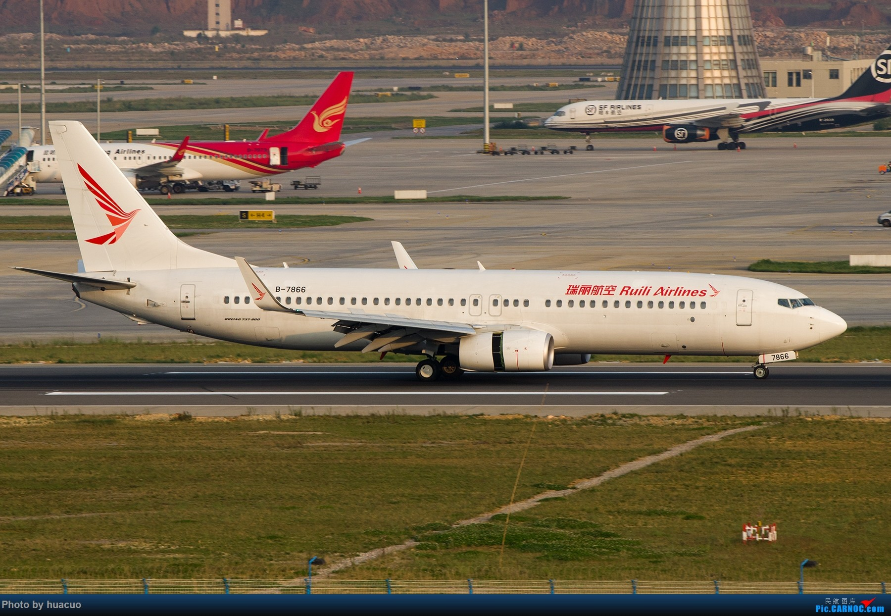Re:【KMG】昆明机场日常 BOEING 737-800 B-7866 中国昆明长水国际机场