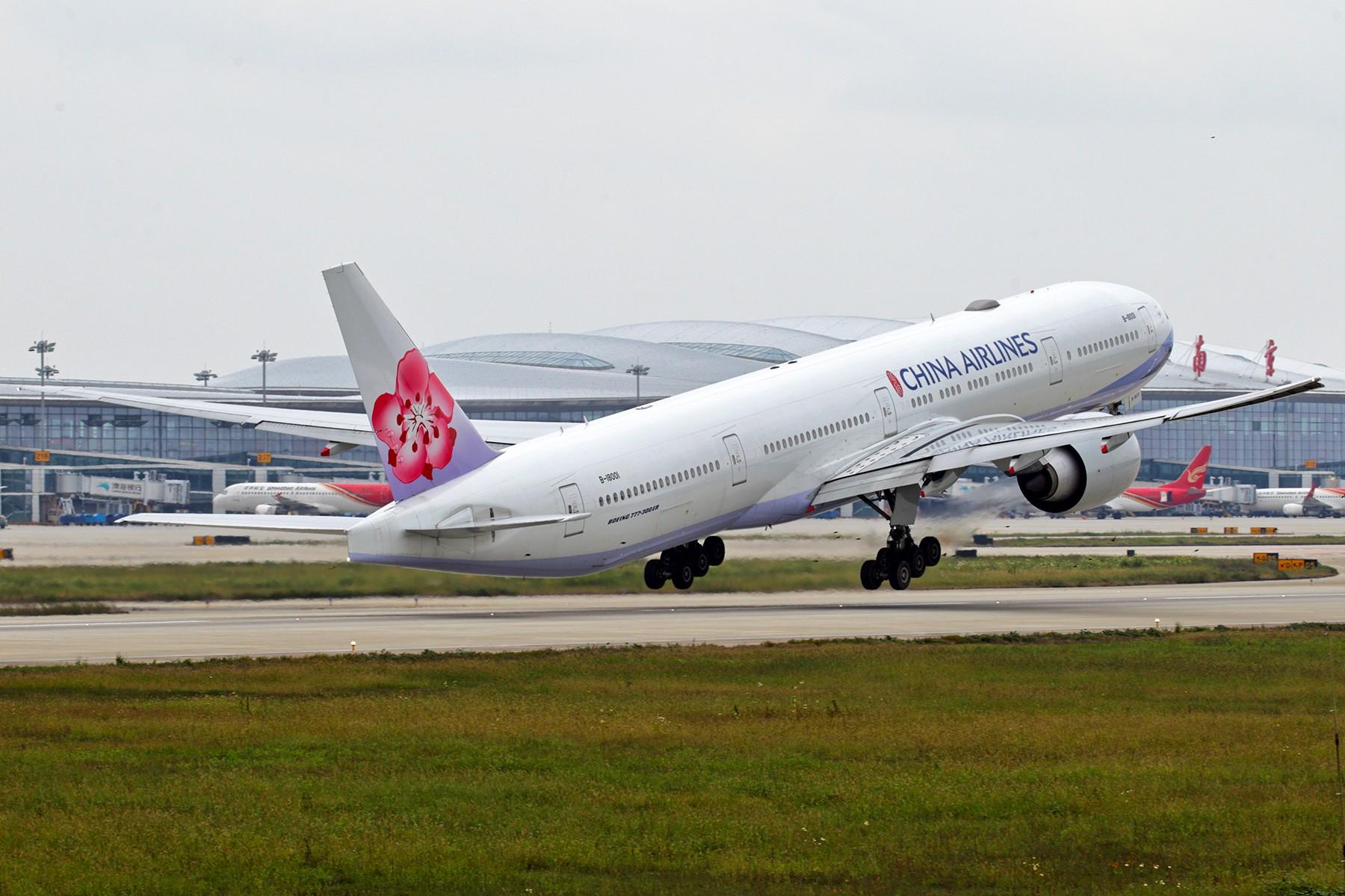 [原创]【BLDDQ】******NKG07/25单跑道运行中----先贴波音****** BOEING 777-300ER B-18001 中国南京禄口国际机场