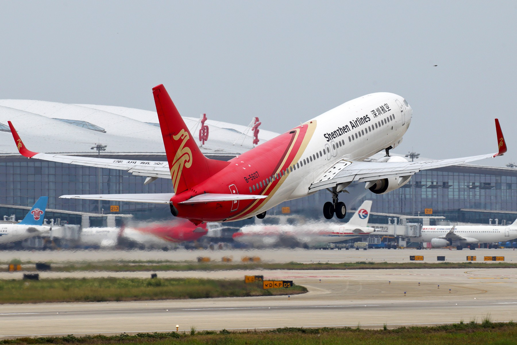 Re:[原创]【BLDDQ】******NKG07/25单跑道运行中****** BOEING 737-800 B-5607 中国南京禄口国际机场