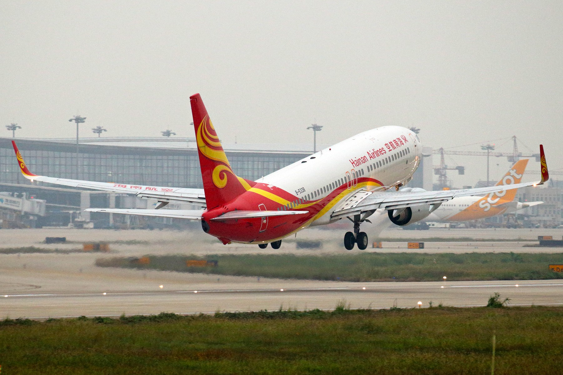 Re:[原创]【BLDDQ】******NKG07/25单跑道运行中****** BOEING 737-800 B-5338 中国南京禄口国际机场