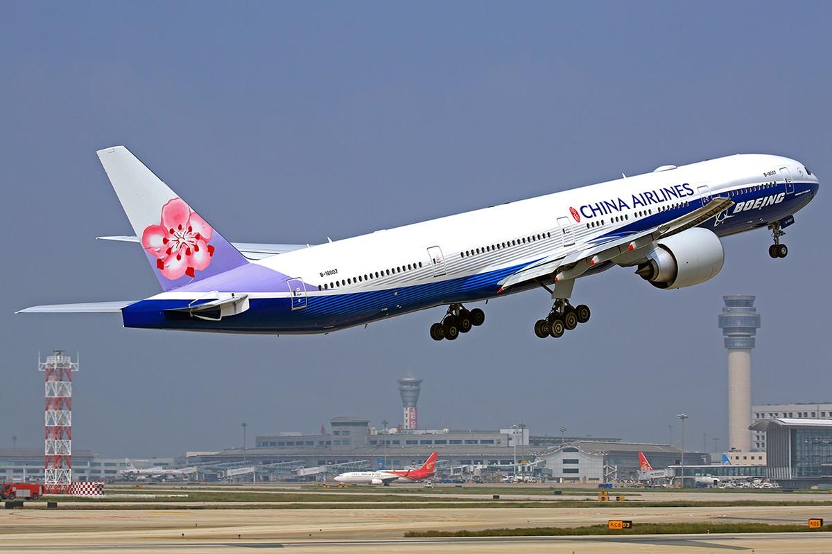 """[原创]当""""蓝鲸""""遇到""""蓝鲸"""" BOEING 777-300ER B-18007 中国南京禄口国际机场"""
