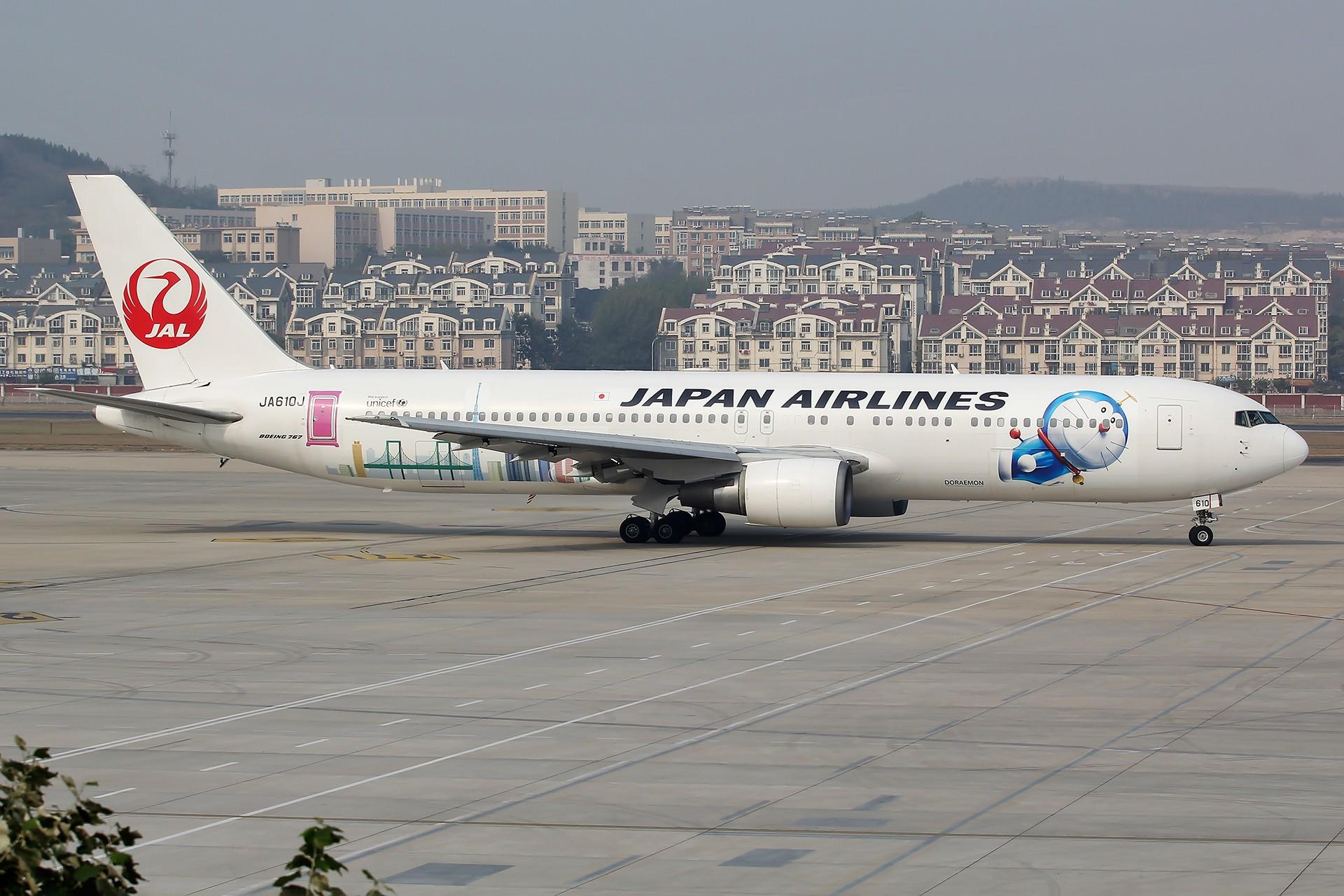 Re:[DLC]。。。JAL 哆啦A梦 。。。 BOEING 767-300 JA610J 中国大连国际机场