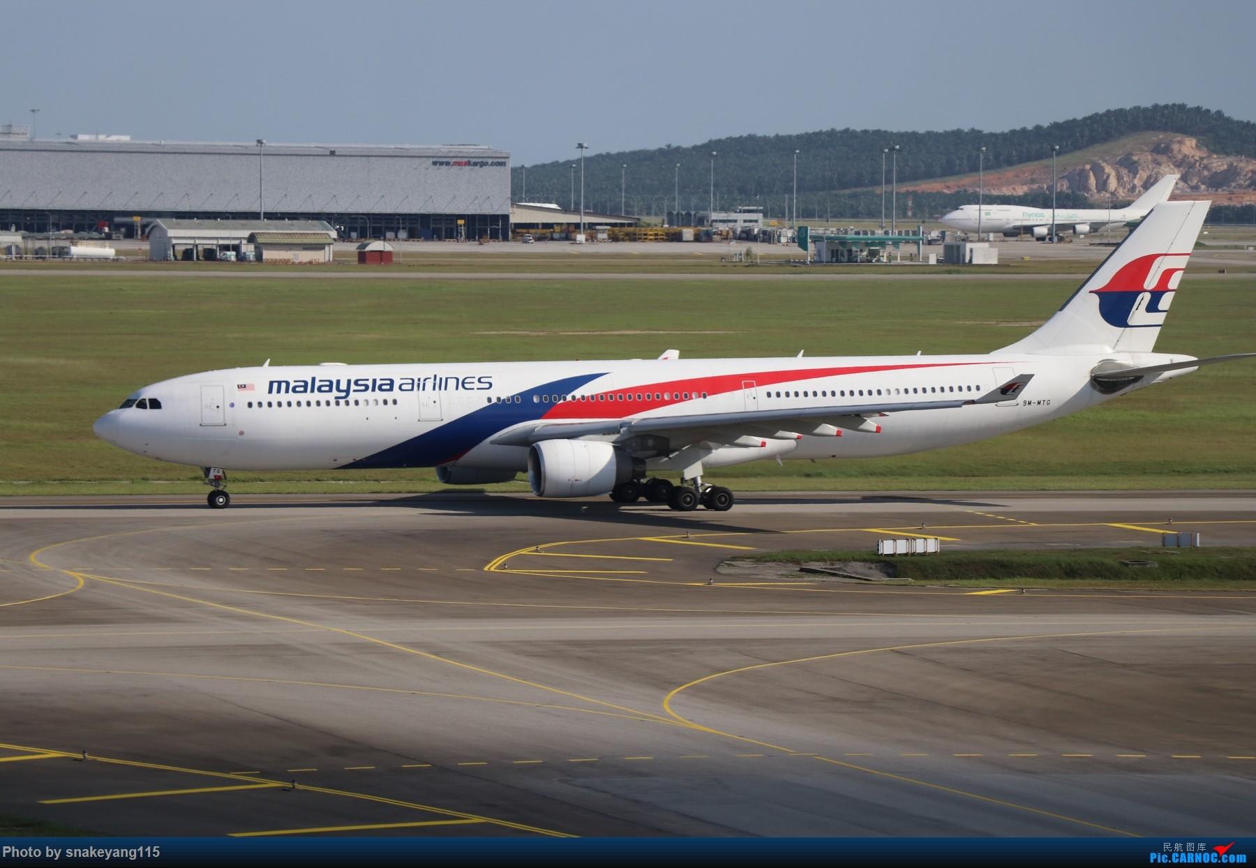 Re:[原创]吉隆坡国际机场观景台一游~ AIRBUS A330-300 9M-MTG 吉隆坡国际机场
