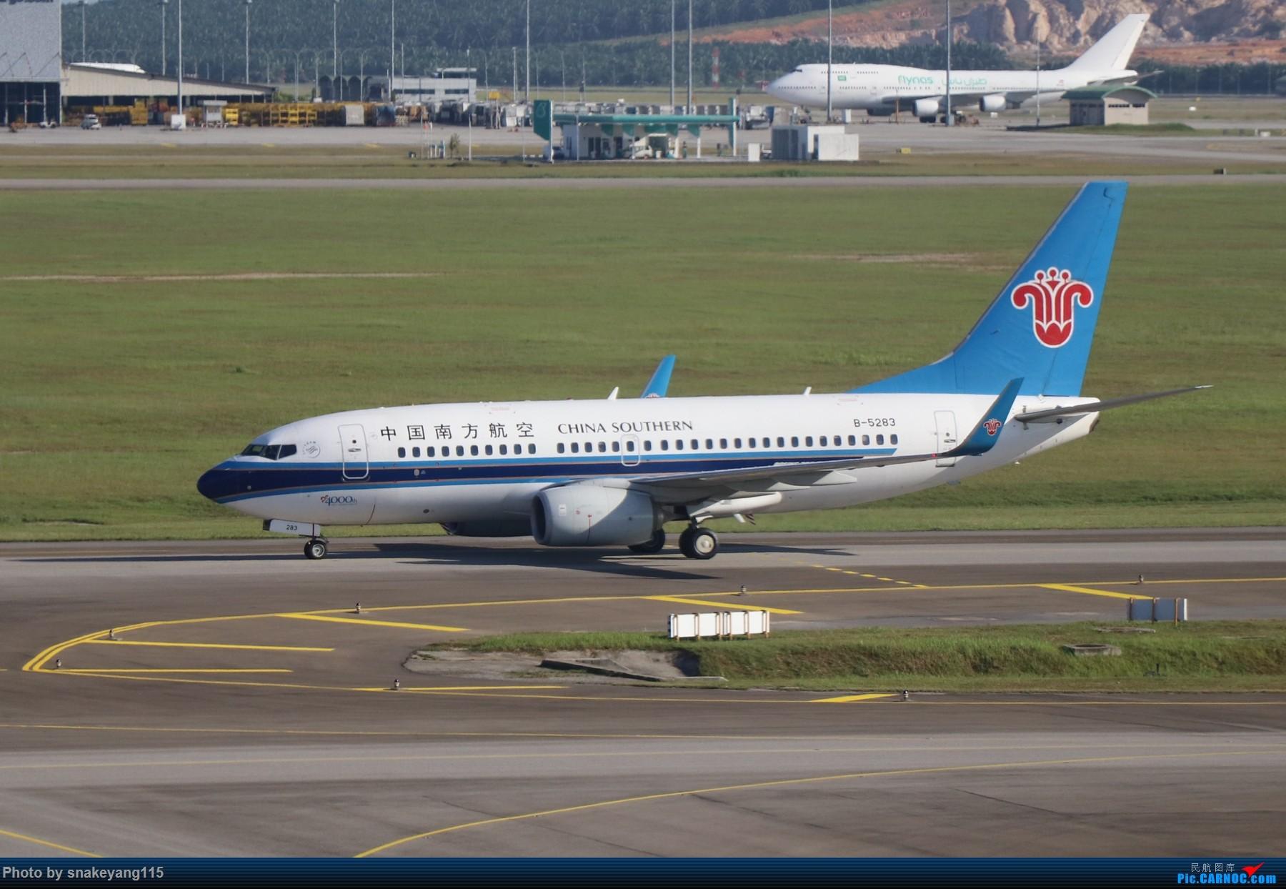 Re:[原创]吉隆坡国际机场观景台一游~ BOEING 737-700 B-5283 吉隆坡国际机场