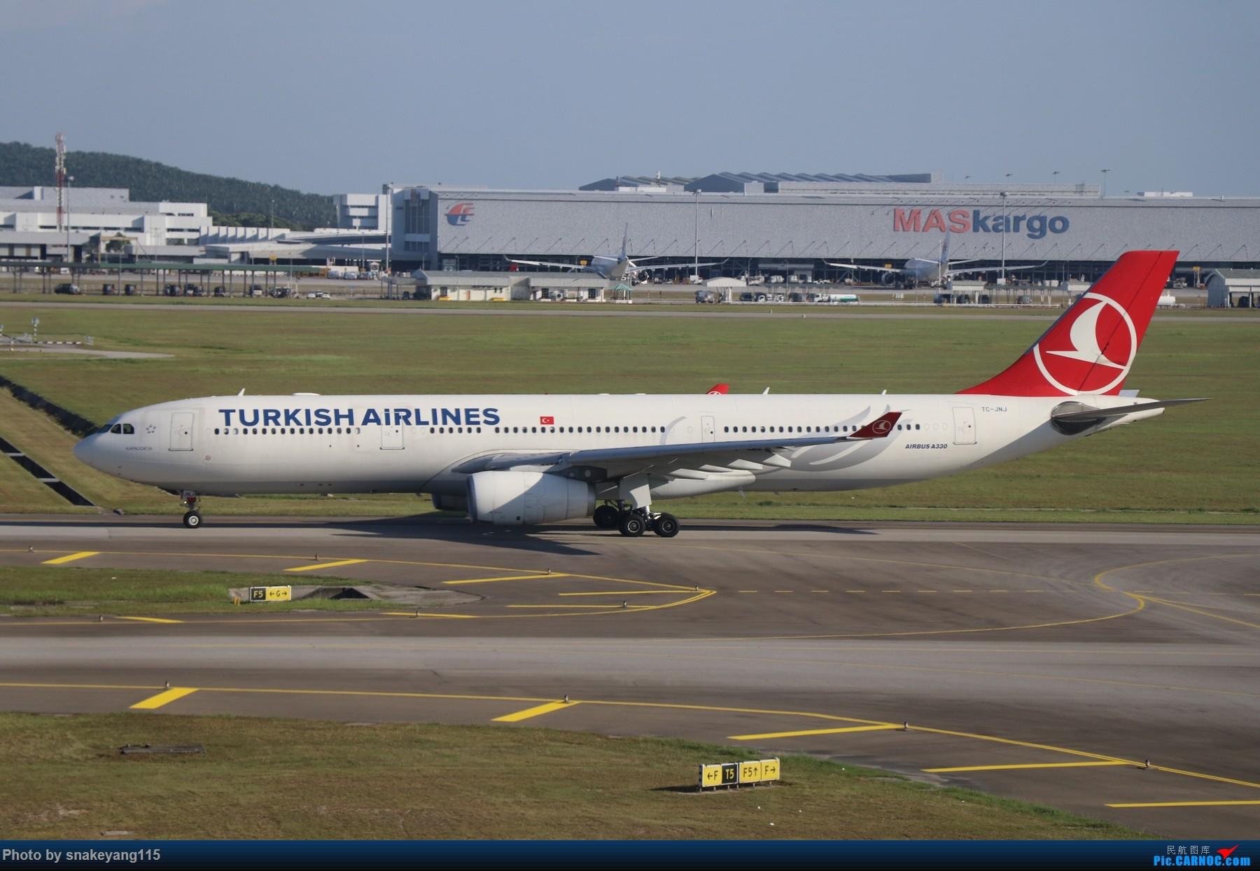 Re:[原创]吉隆坡国际机场观景台一游~ AIRBUS A330-300 TC-JNJ 吉隆坡国际机场