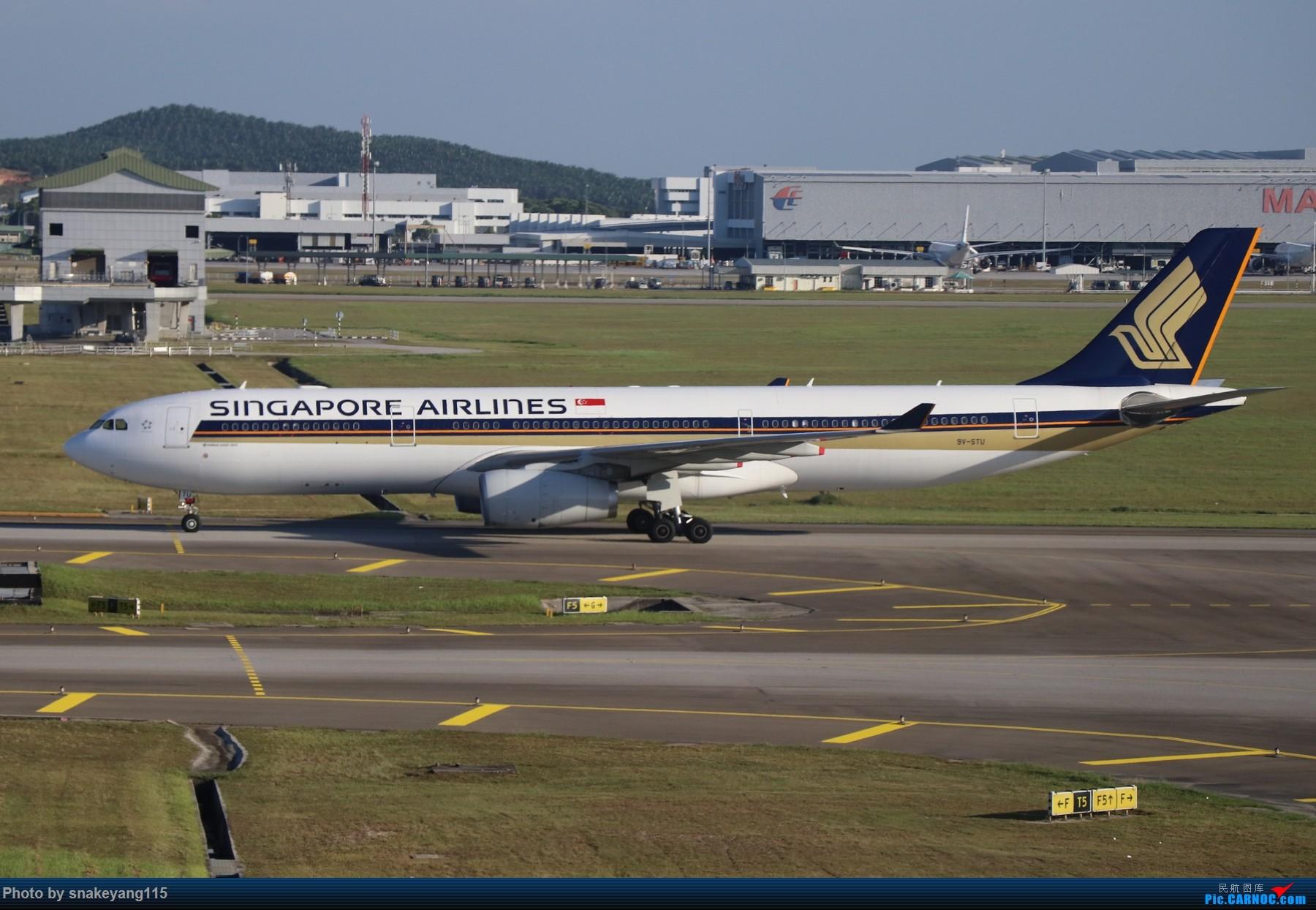 Re:[原创]吉隆坡国际机场观景台一游~ AIRBUS A330-300 9V-STU 吉隆坡国际机场
